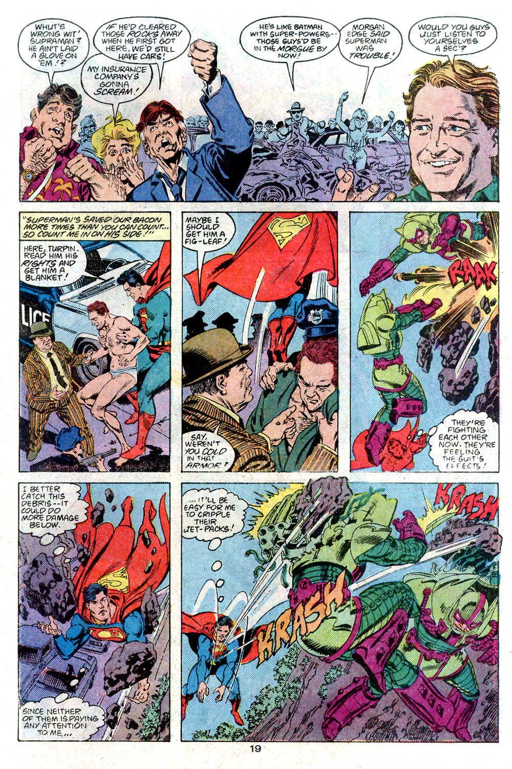 Read online Adventures of Superman (1987) comic -  Issue #446 - 20