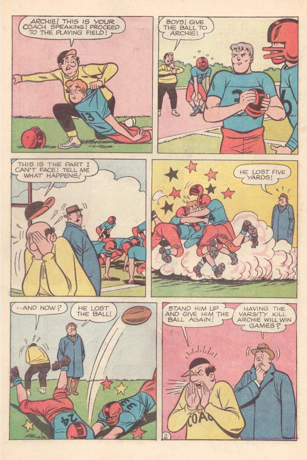 Read online Archie (1960) comic -  Issue #163 - 14