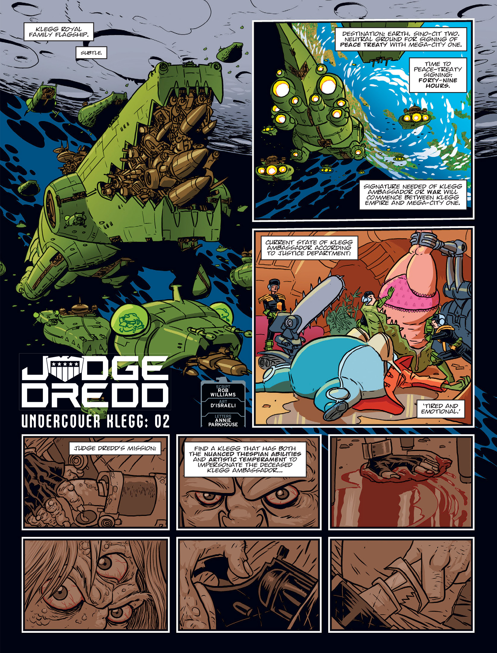 Read online 2000 AD comic -  Issue #1970 - 3