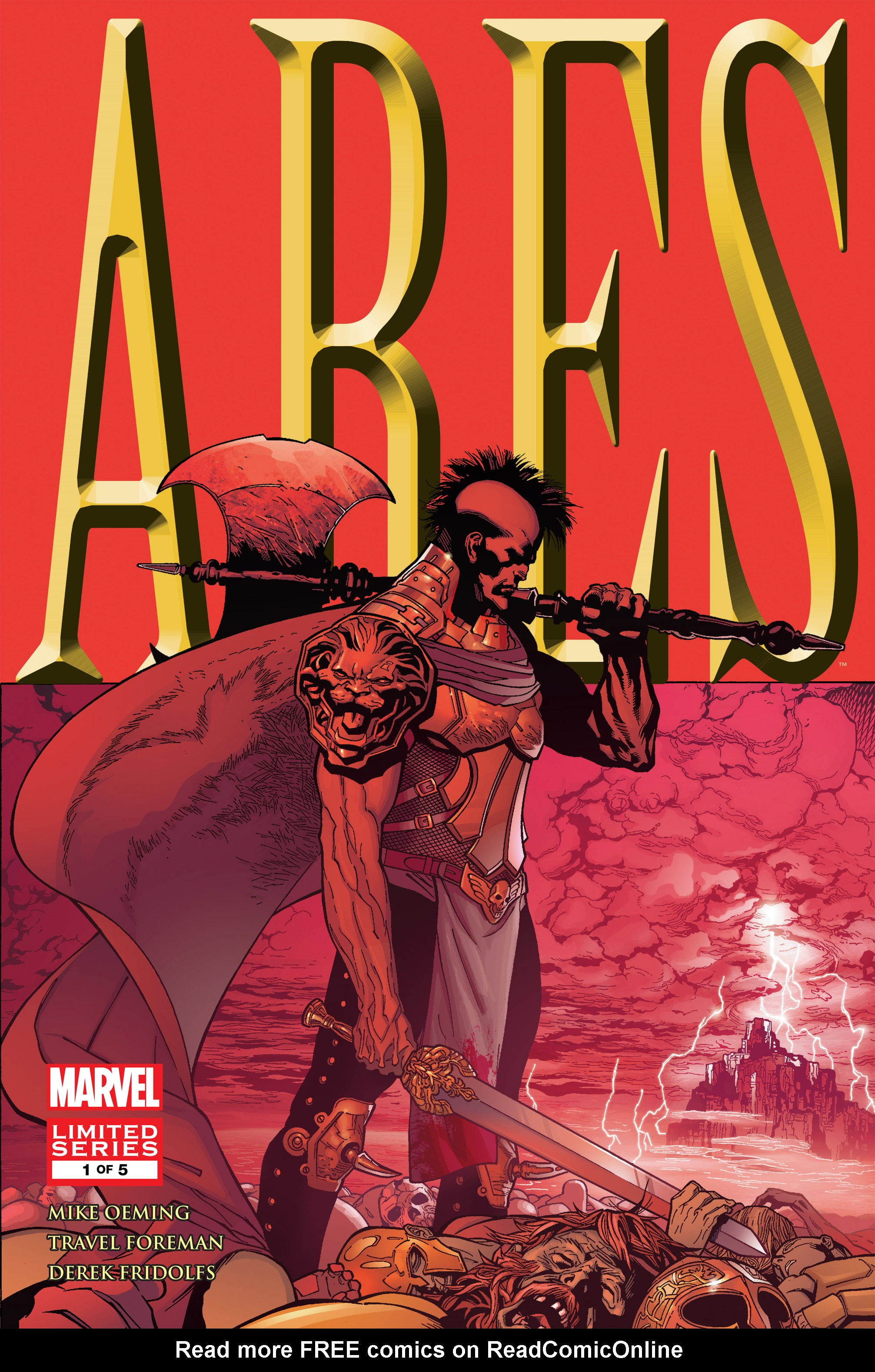 Read online Ares comic -  Issue #1 - 1