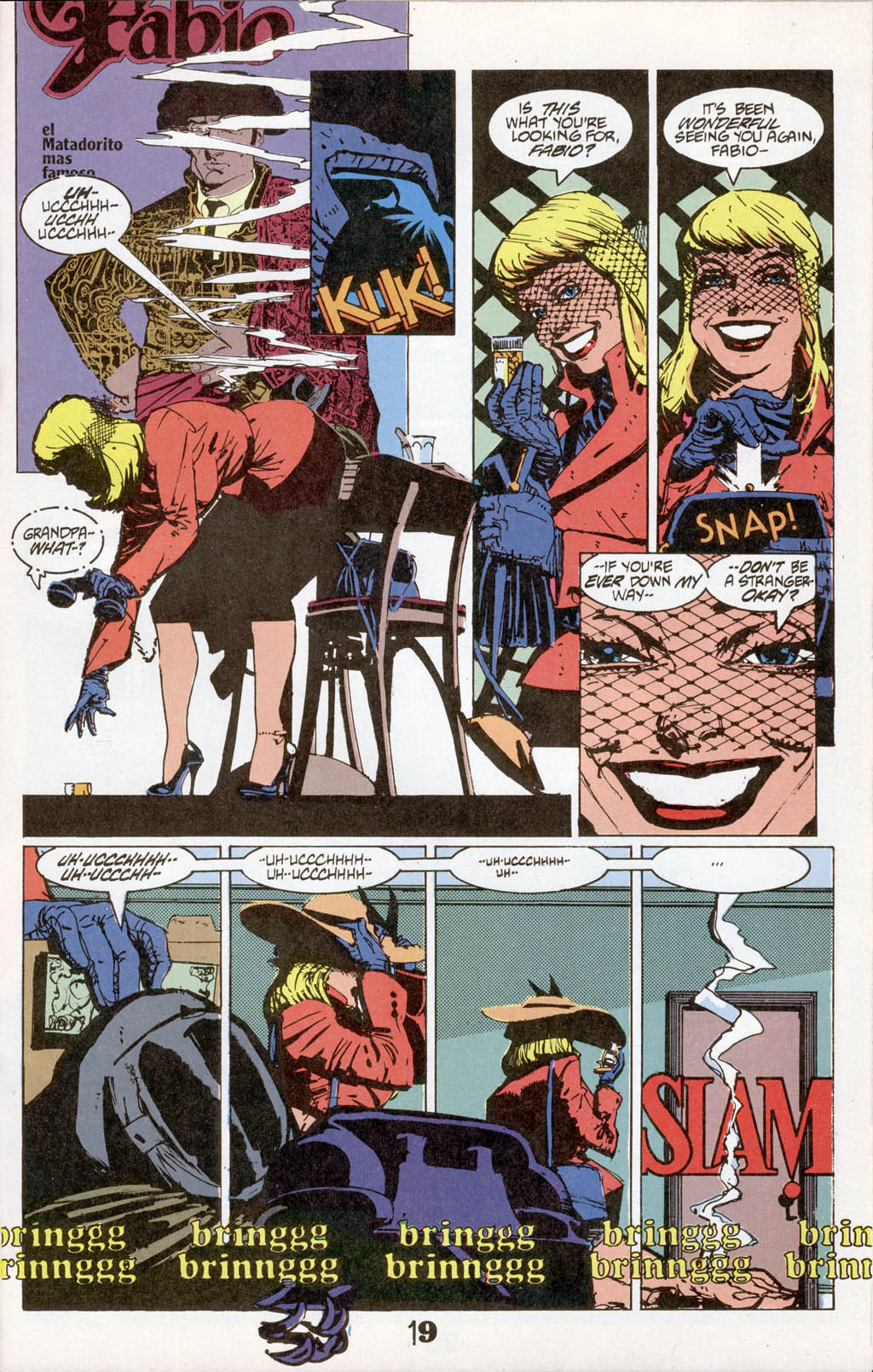Read online American Flagg! comic -  Issue # _Special 1 - 21