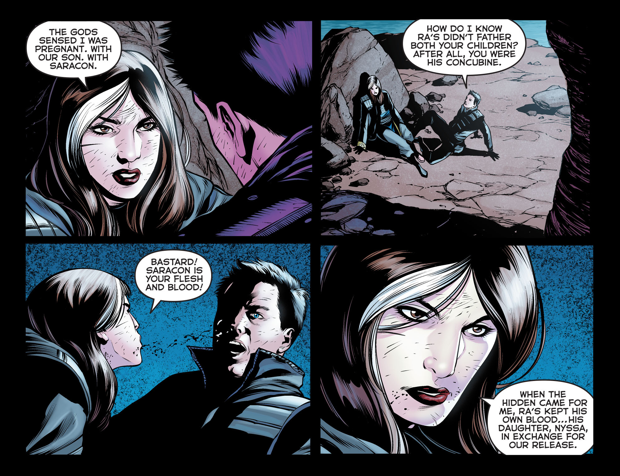 Read online Arrow: The Dark Archer comic -  Issue #12 - 8