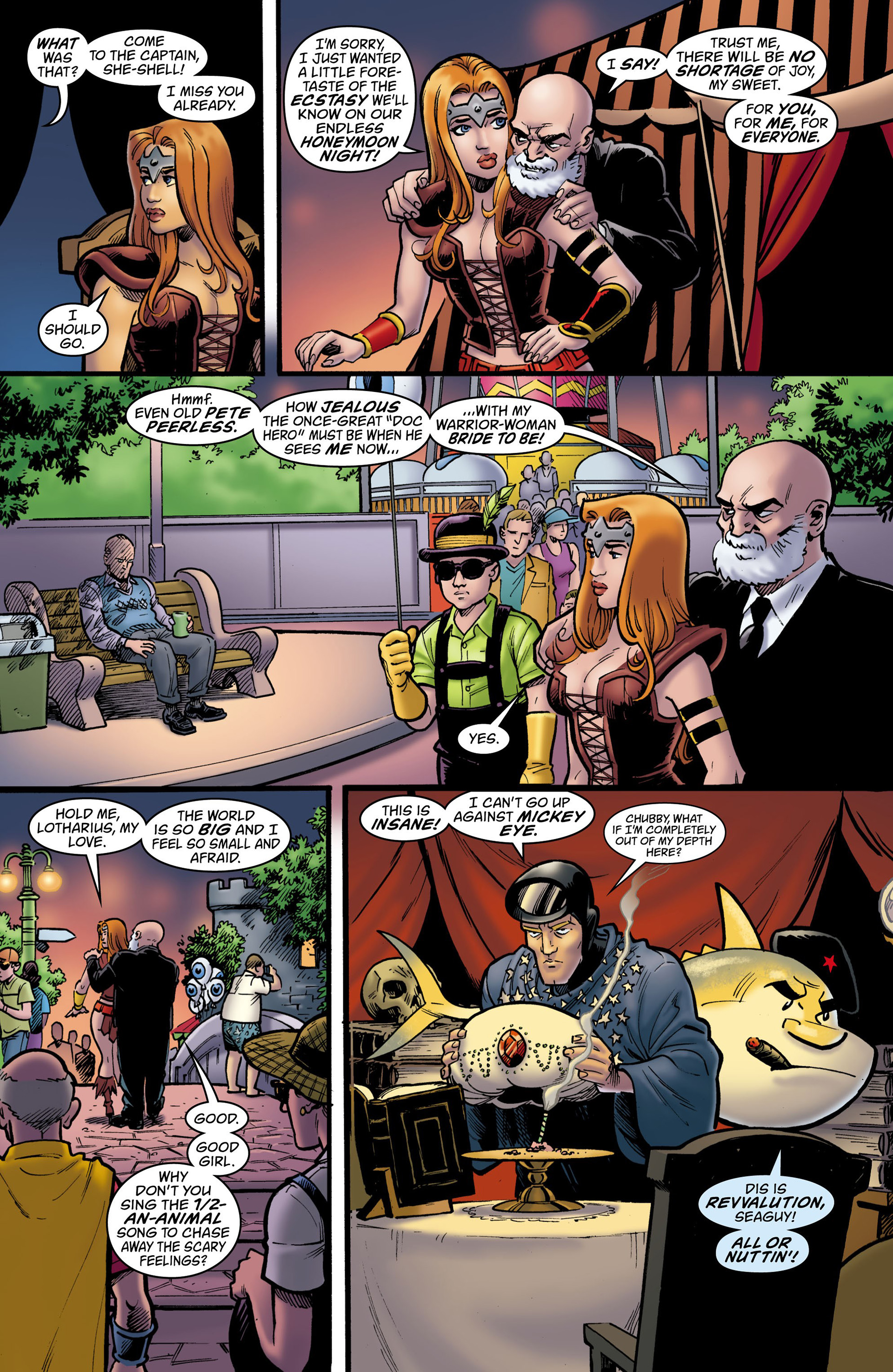 Read online Seaguy: The Slaves of Mickey Eye comic -  Issue #3 - 13