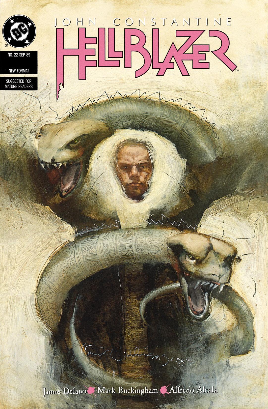 Hellblazer issue 22 - Page 1