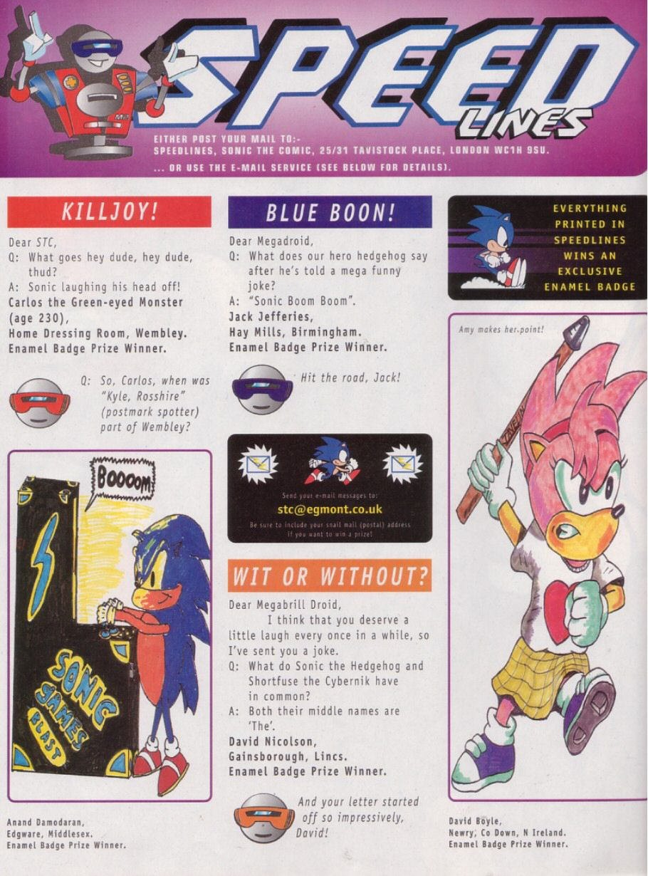 Read online Sonic the Comic comic -  Issue #113 - 15