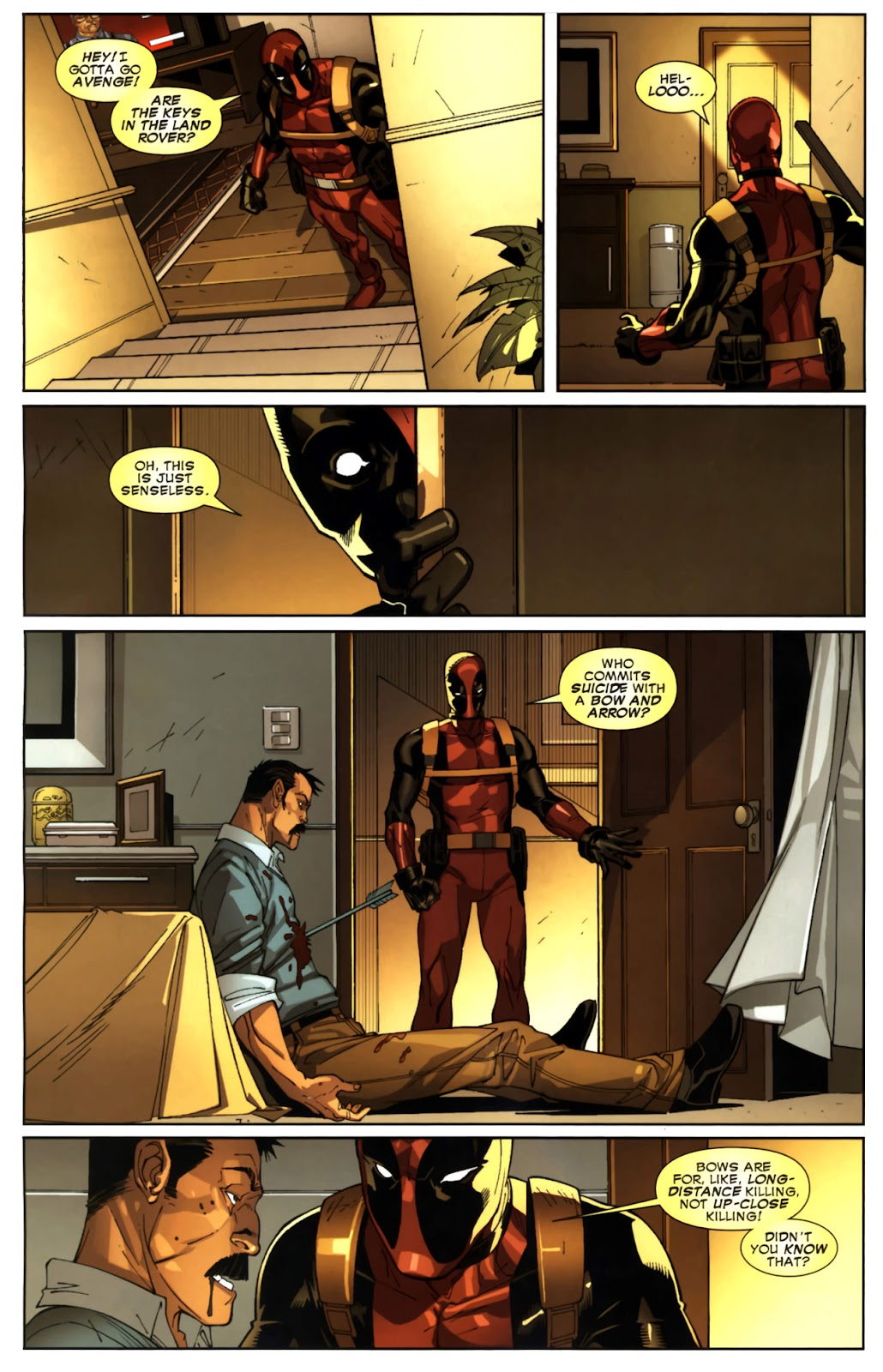 Read online Deadpool (2008) comic -  Issue #10 - 17