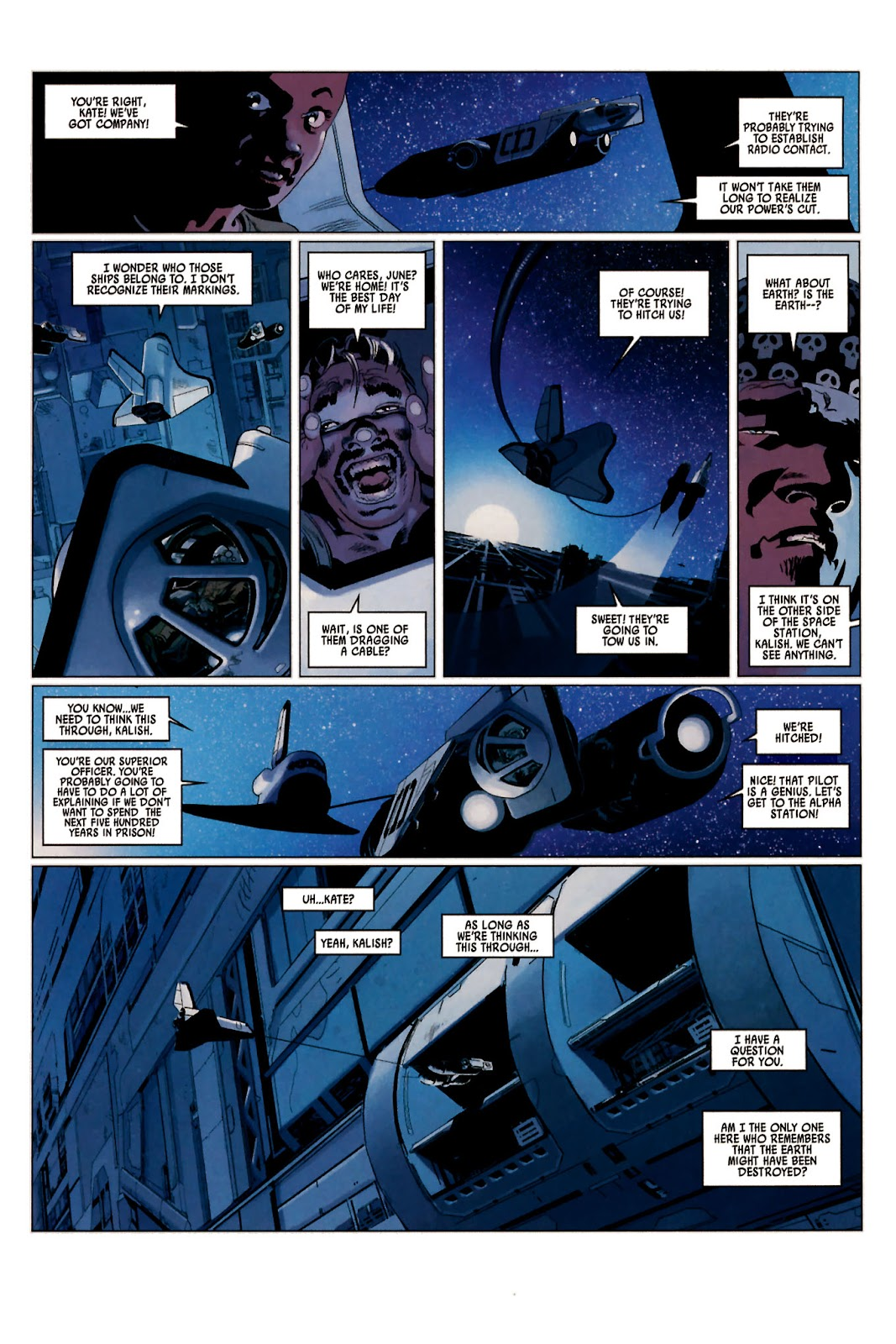 Read online Universal War One: Revelations comic -  Issue #2 - 17