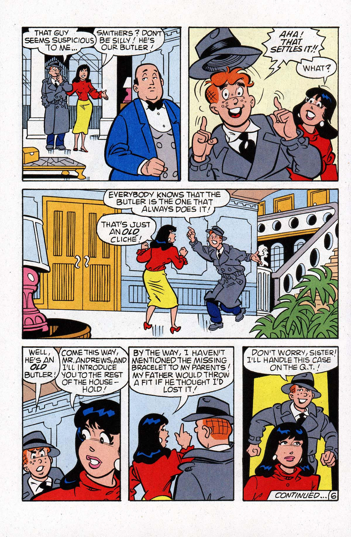 Read online Archie (1960) comic -  Issue #533 - 7