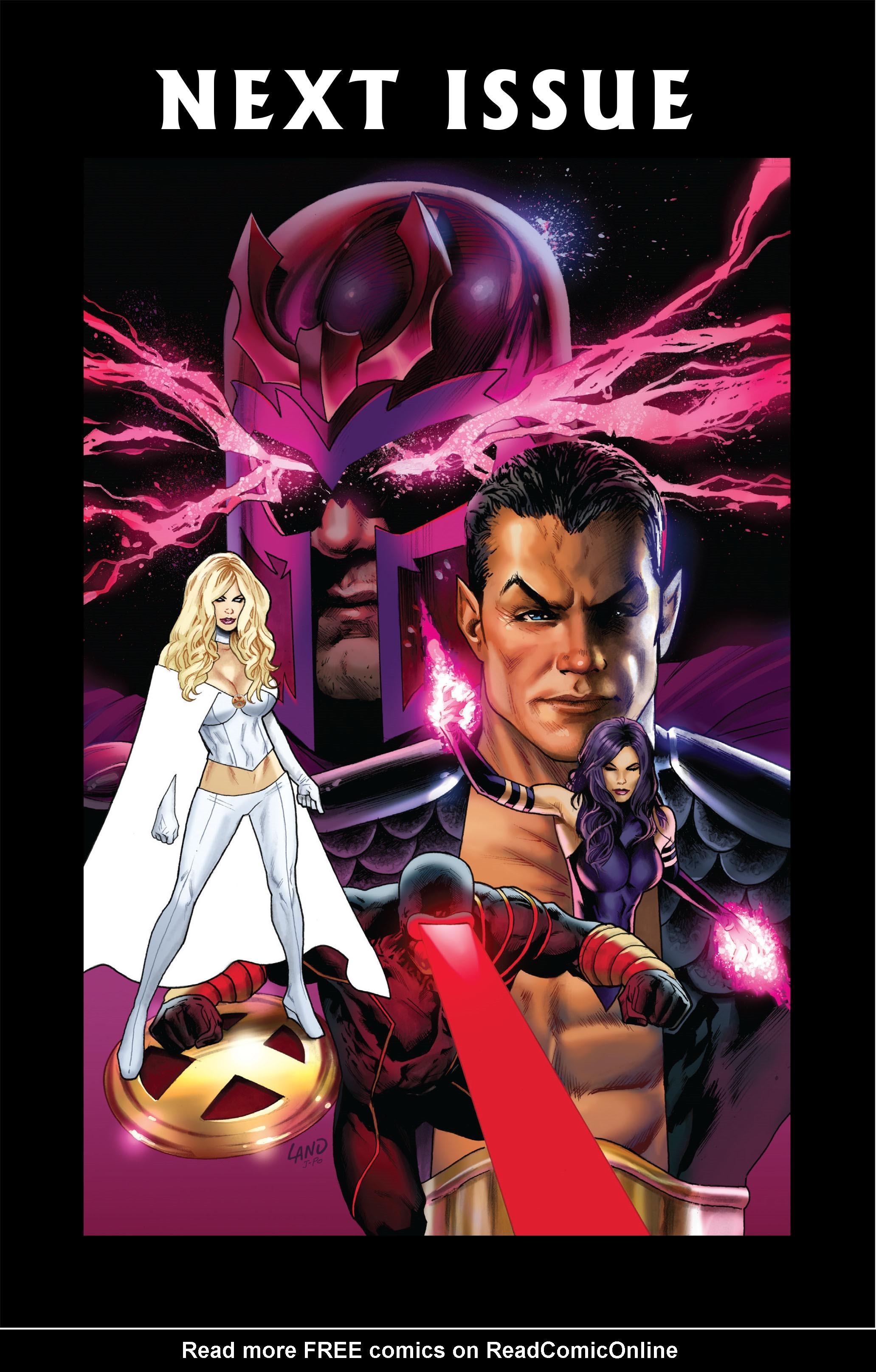 Read online Uncanny X-Men (1963) comic -  Issue #516 - 25
