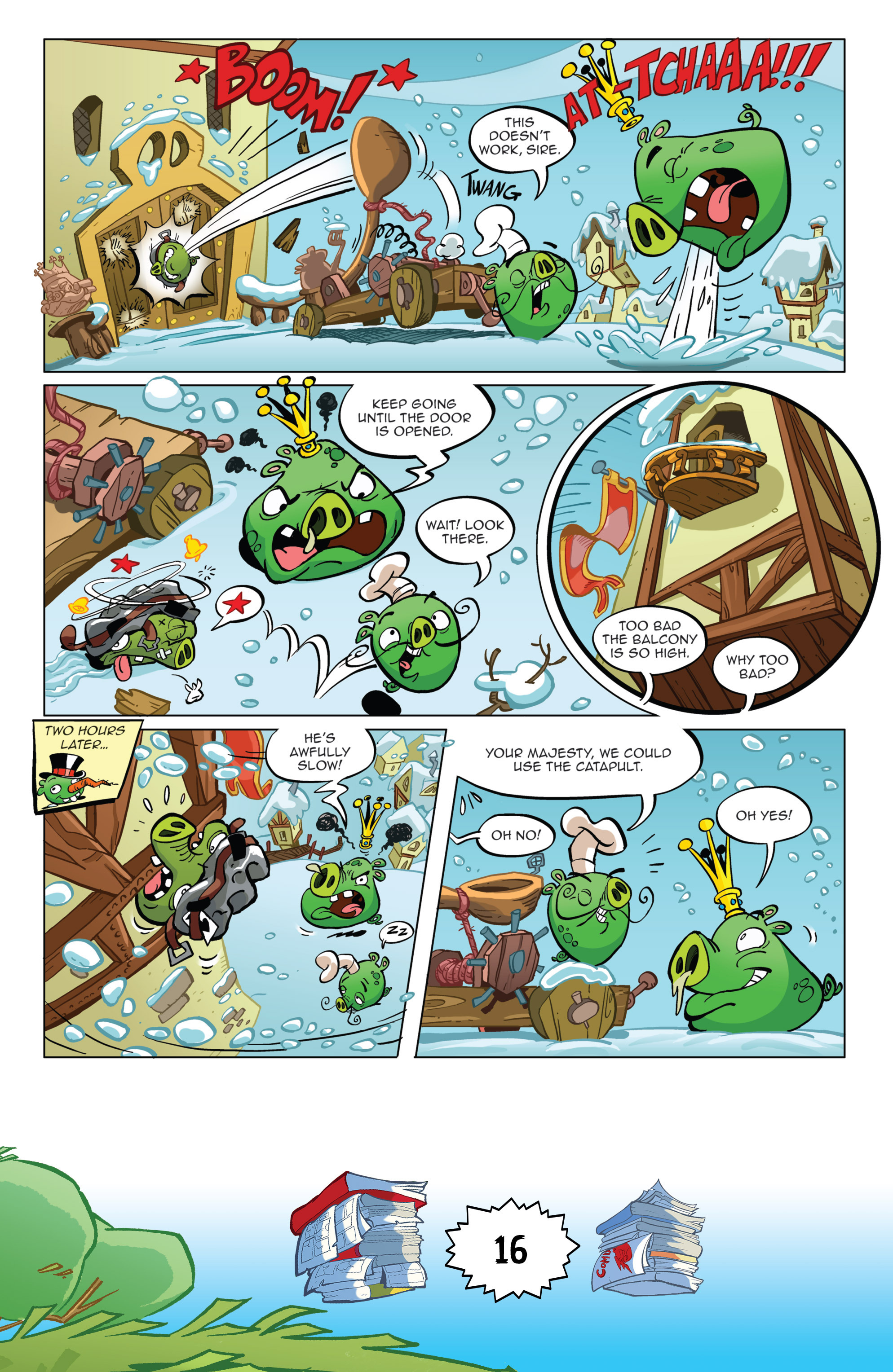 Read online Angry Birds Comics (2016) comic -  Issue #6 - 18