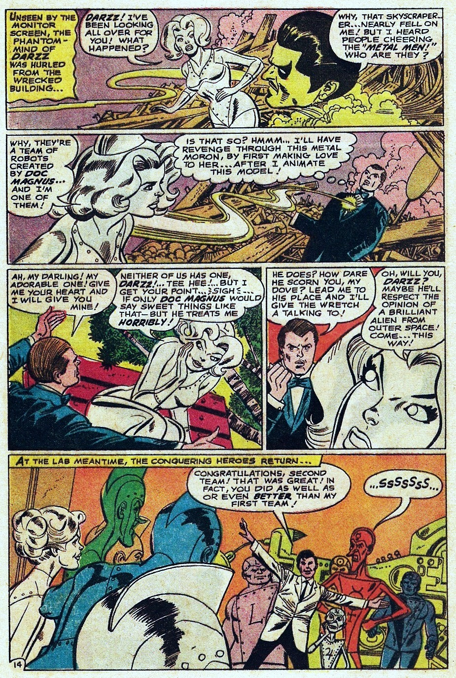 Metal Men (1963) issue 31 - Page 20