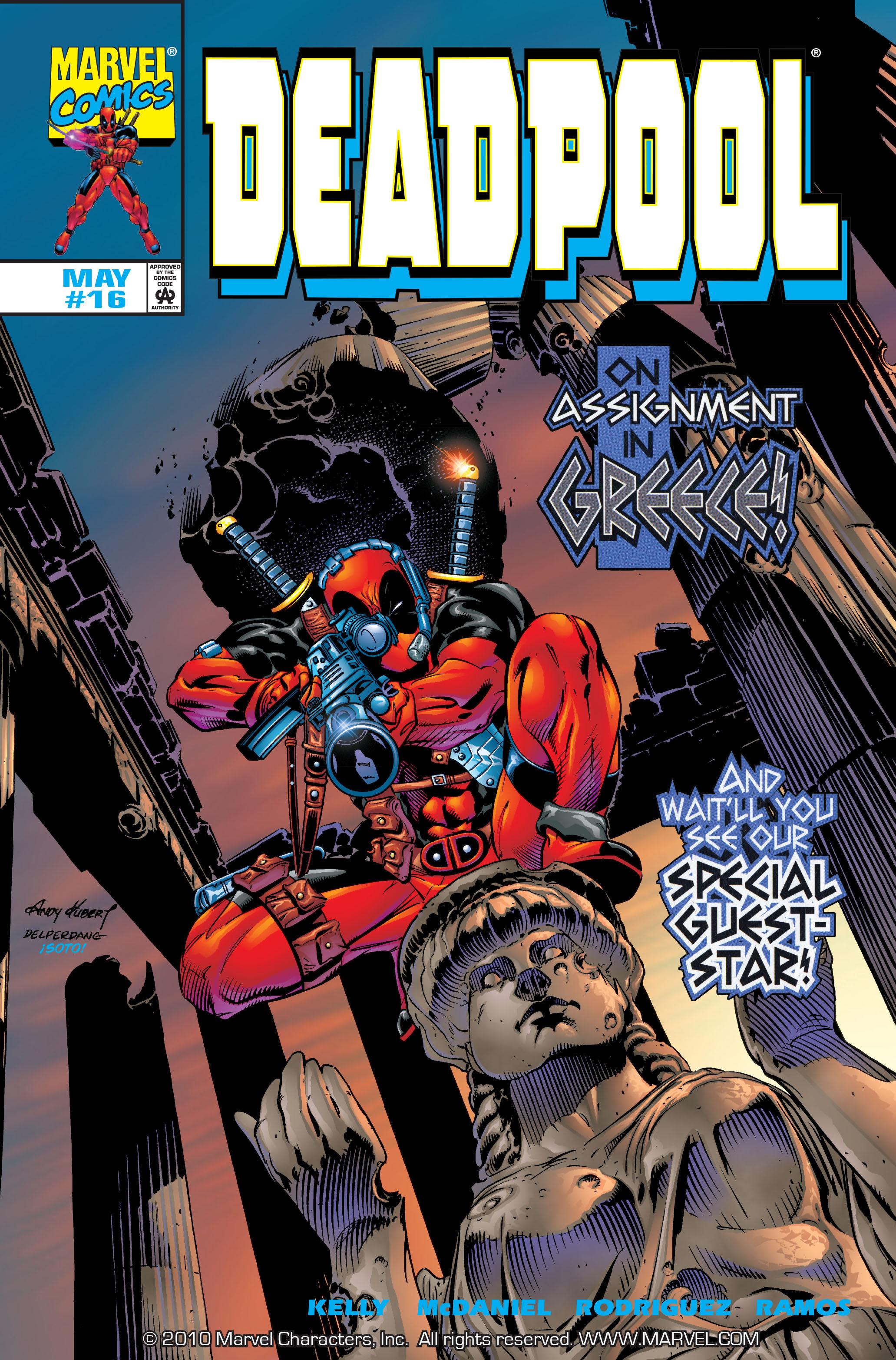 Deadpool (1997) 16 Page 1