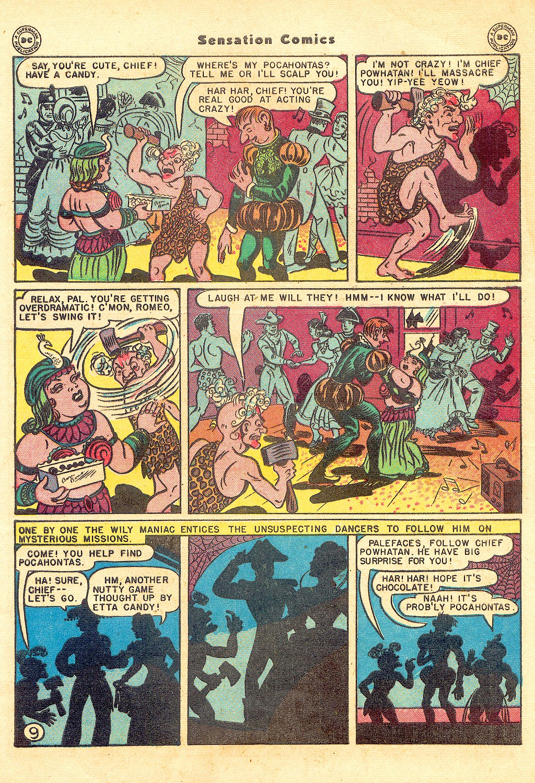 Read online Sensation (Mystery) Comics comic -  Issue #57 - 11