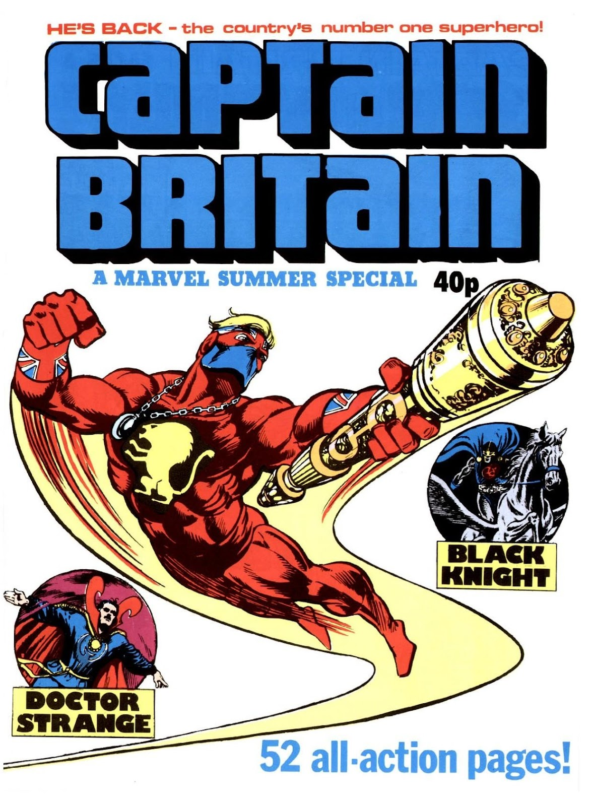 Captain Britain (1976) issue _Special_2 - Page 1