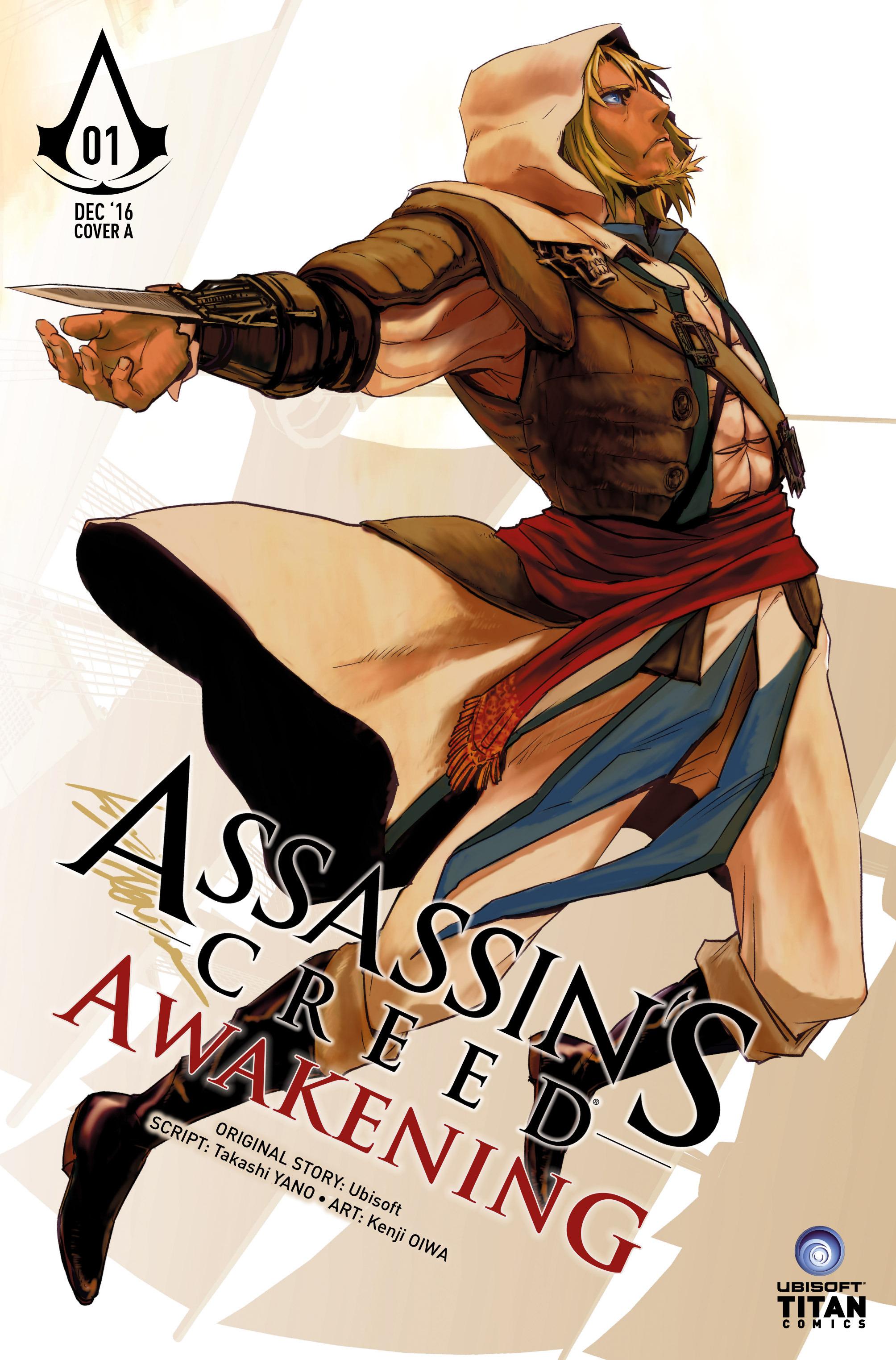 Read online Assassin's Creed: Awakening comic -  Issue #1 - 1