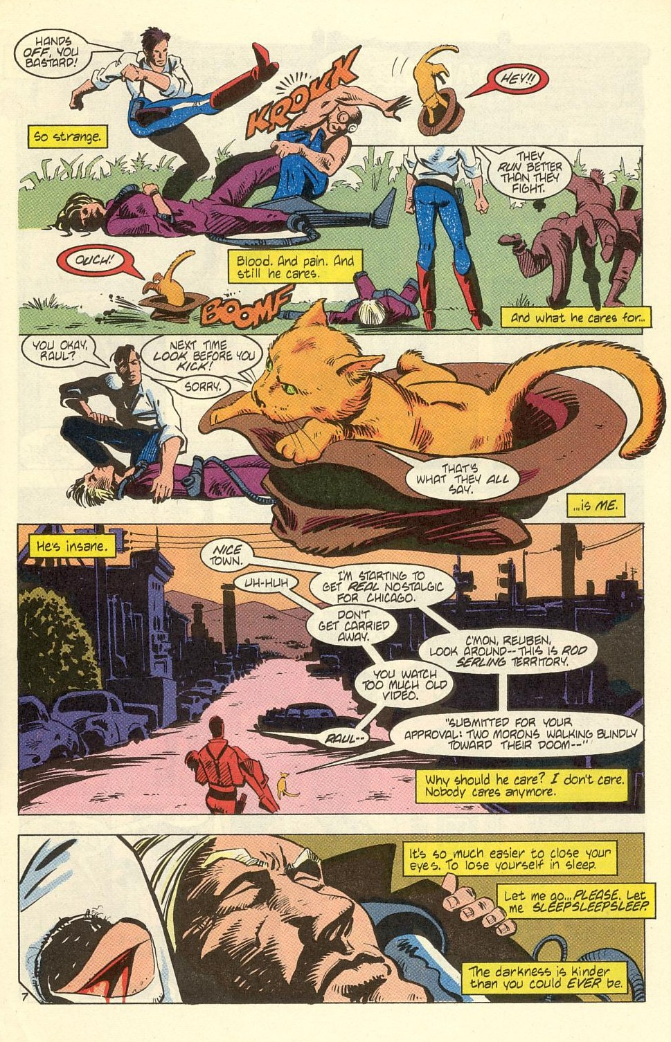 Read online American Flagg! comic -  Issue #40 - 9
