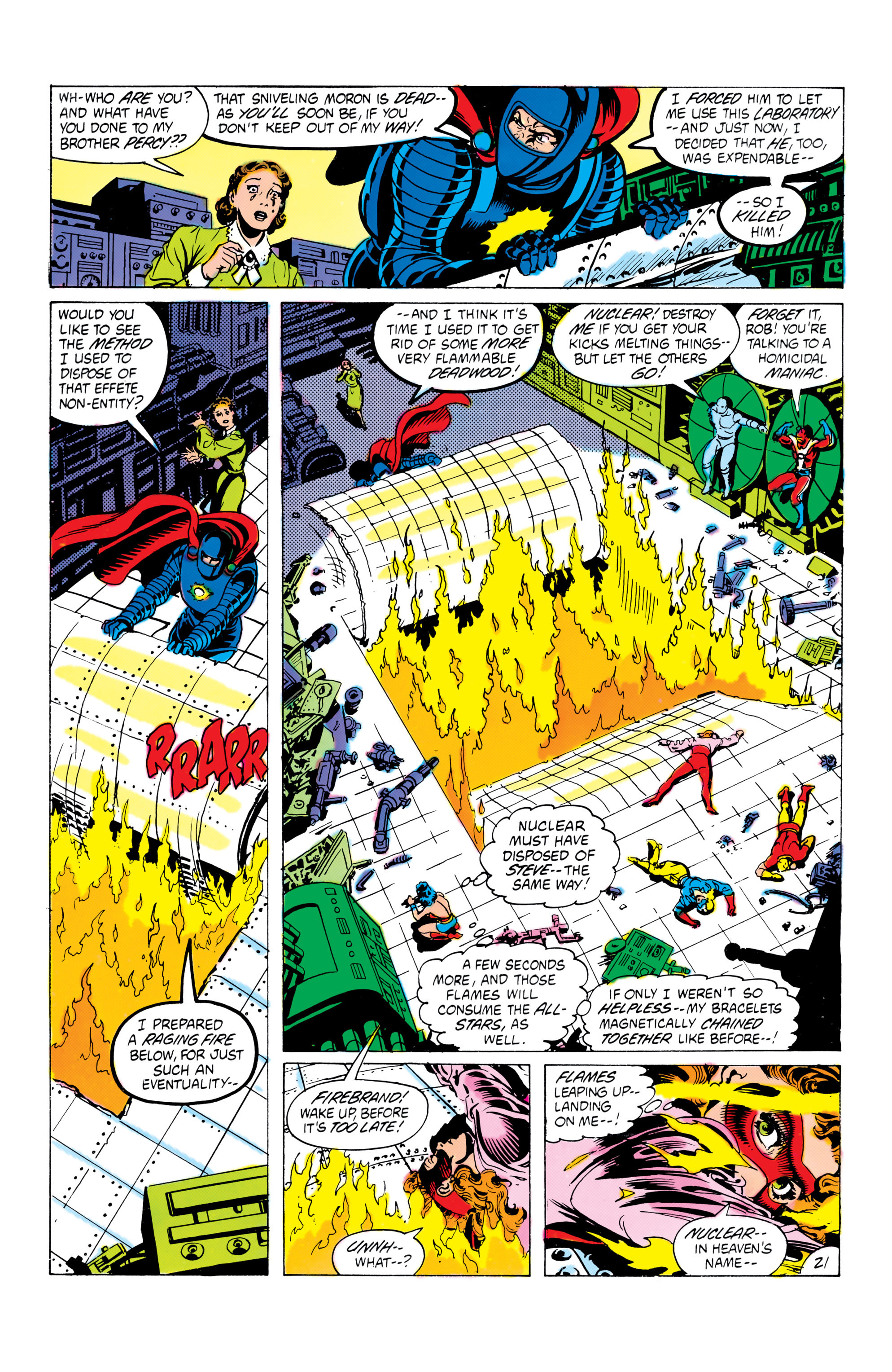 Read online All-Star Squadron comic -  Issue #16 - 22