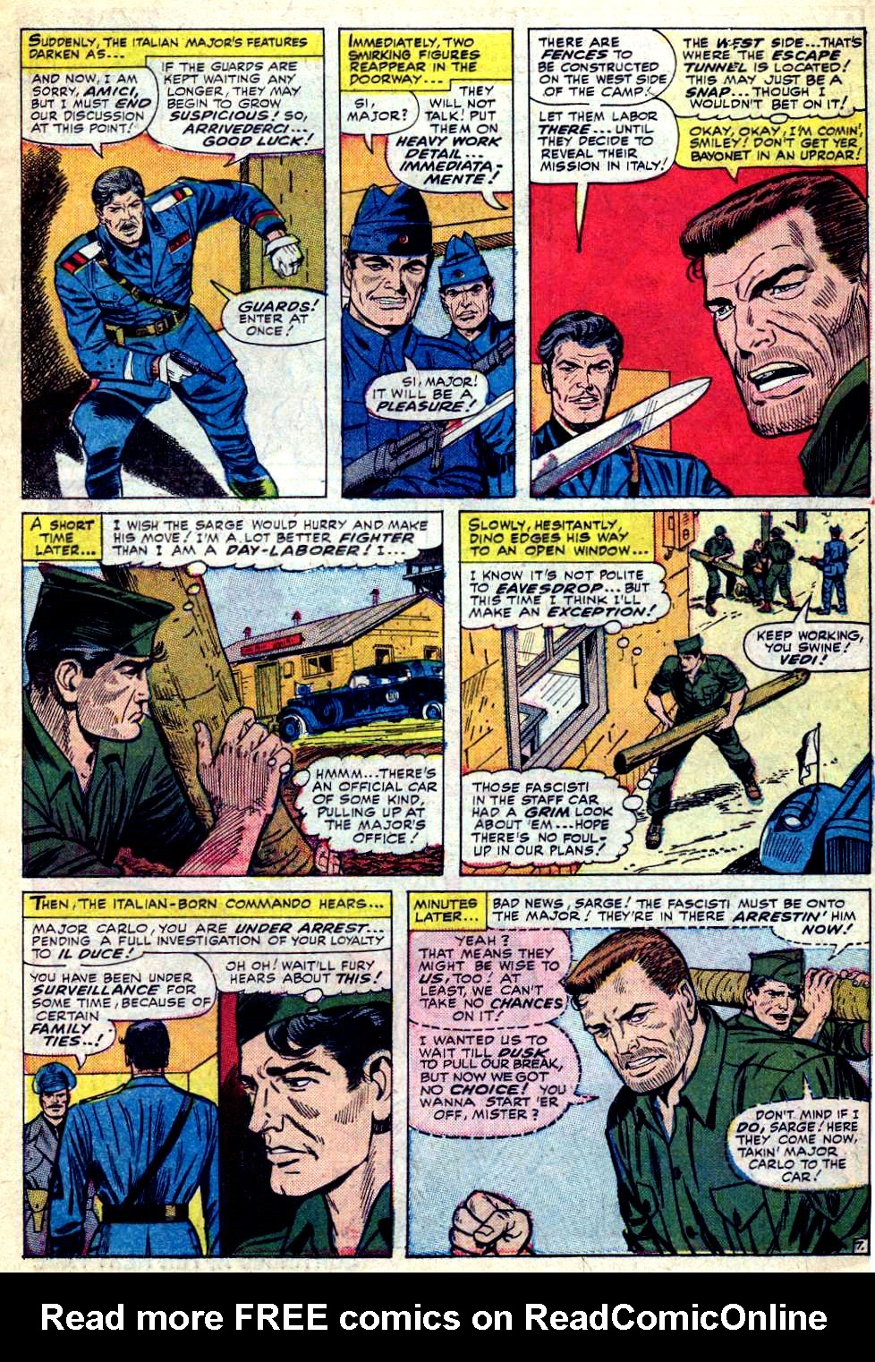 Read online Sgt. Fury comic -  Issue #30 - 11