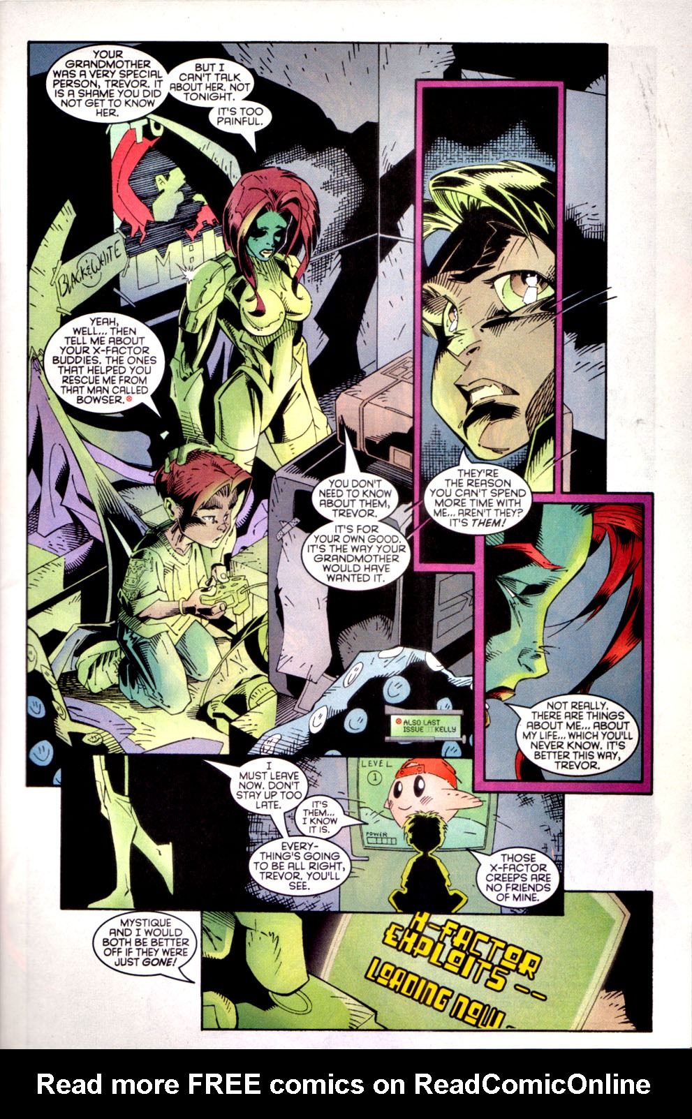Read online X-Factor (1986) comic -  Issue #135 - 4