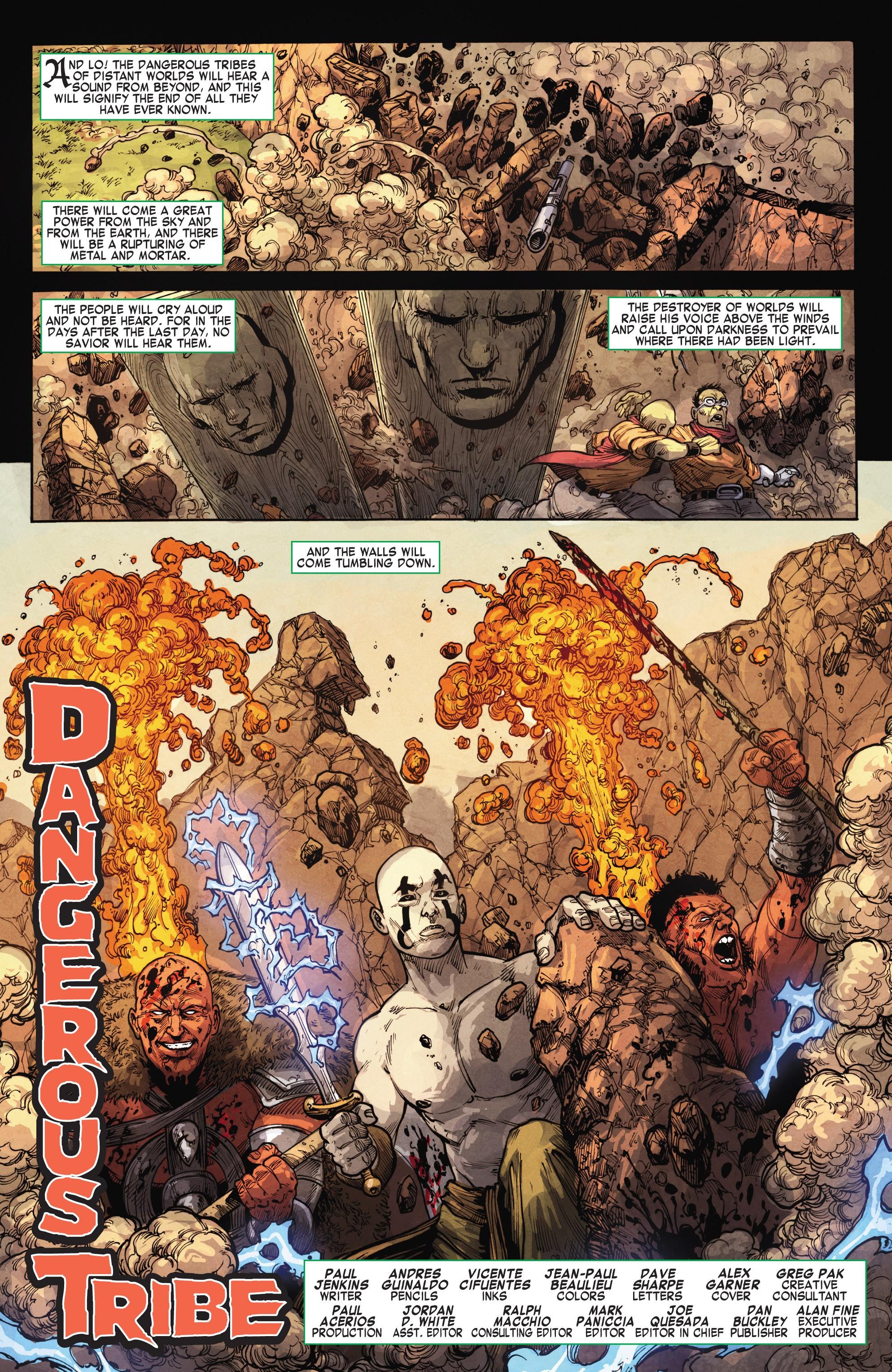Read online Skaar: Son of Hulk comic -  Issue #15 - 3