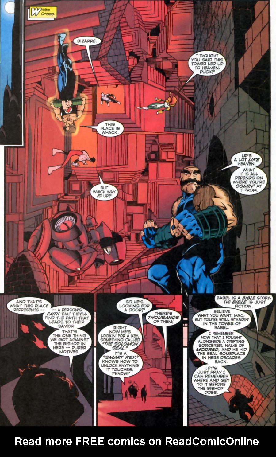 Read online Alpha Flight (1997) comic -  Issue #16 - 12