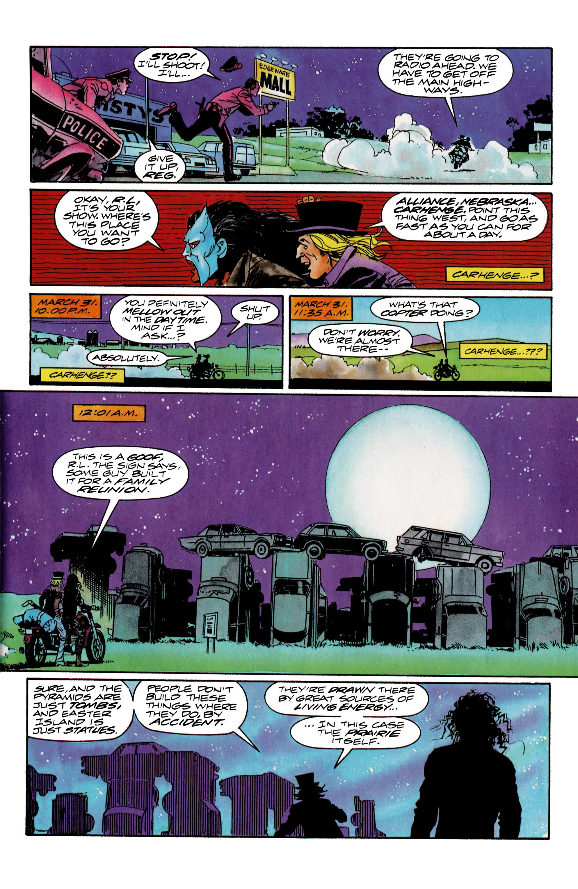 Read online Shadowman (1992) comic -  Issue #15 - 14