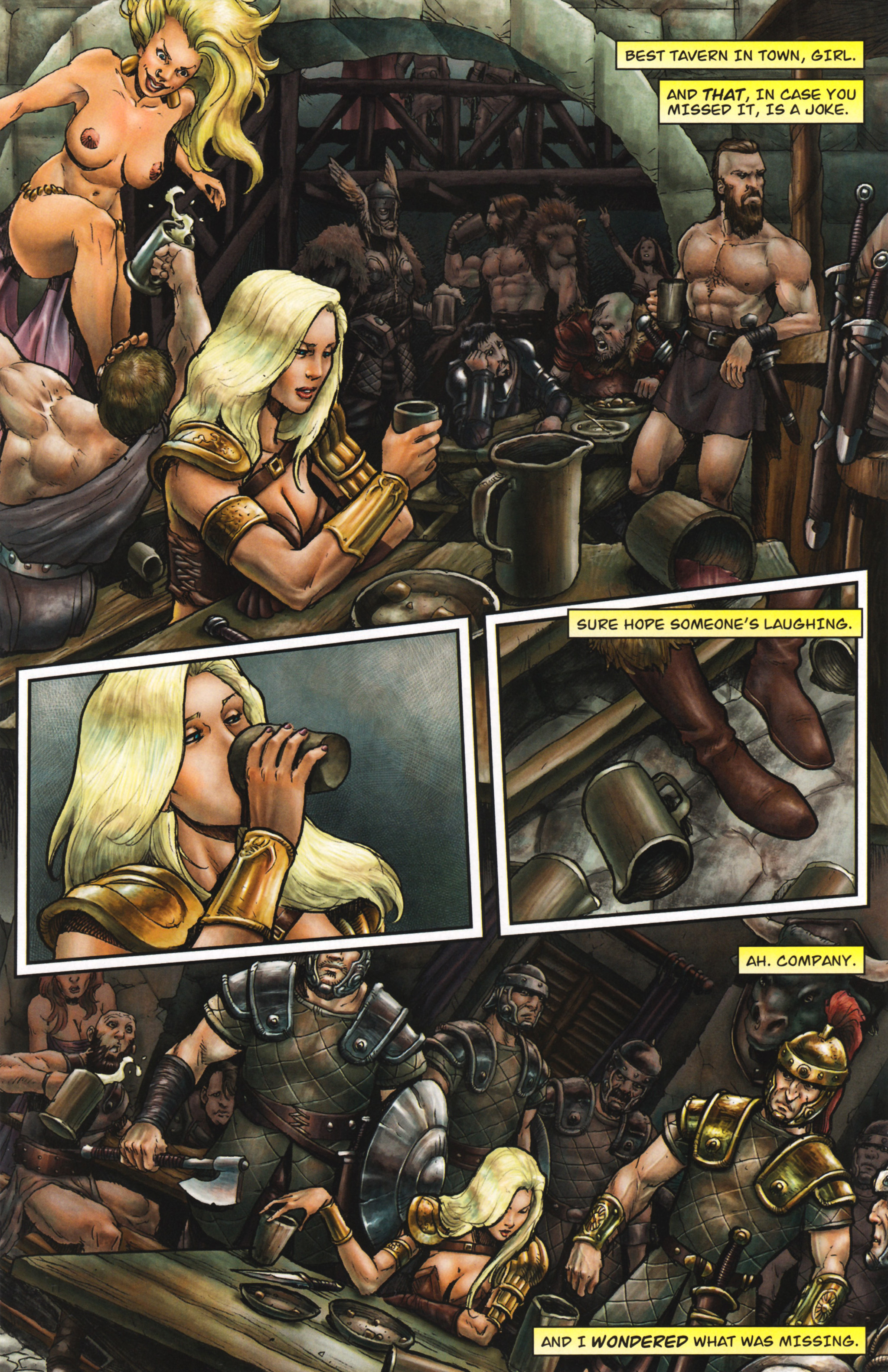 Read online Arhian: Head Huntress comic -  Issue #1 - 24