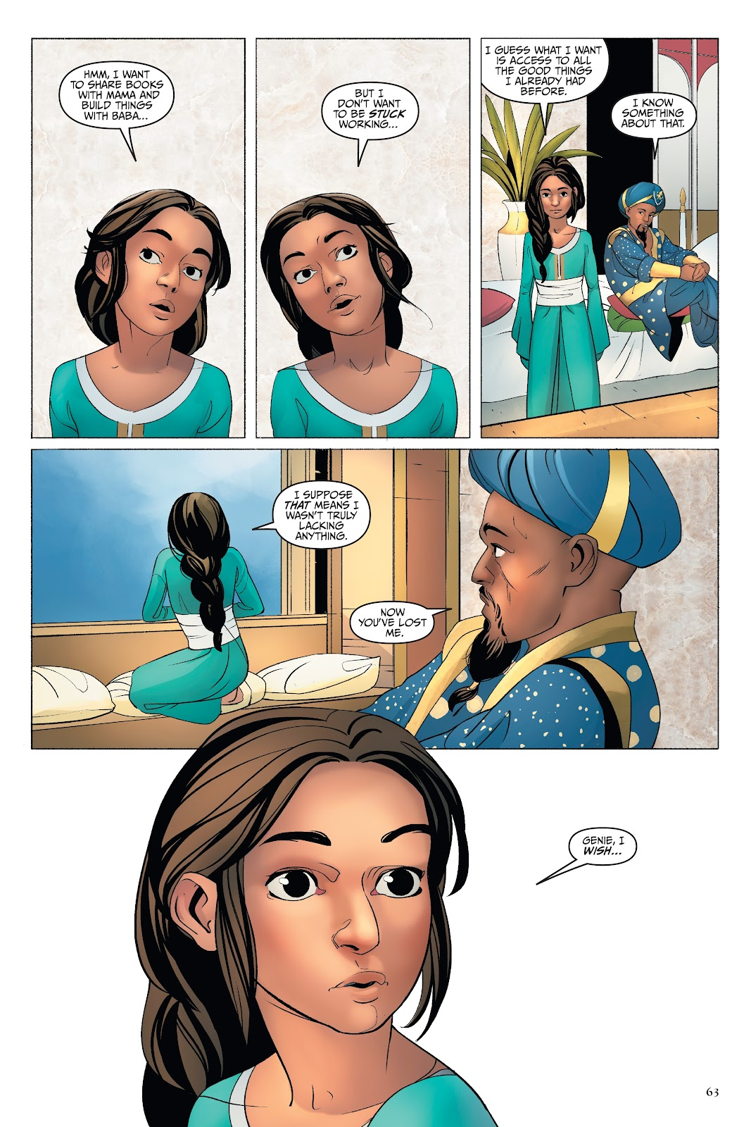 Read online Disney Aladdin: Four Tales of Agrabah comic -  Issue # TPB - 63