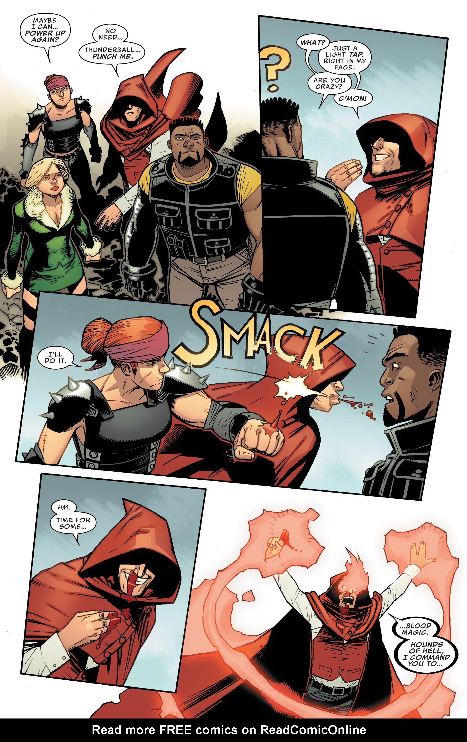 Read online Illuminati comic -  Issue #5 - 13