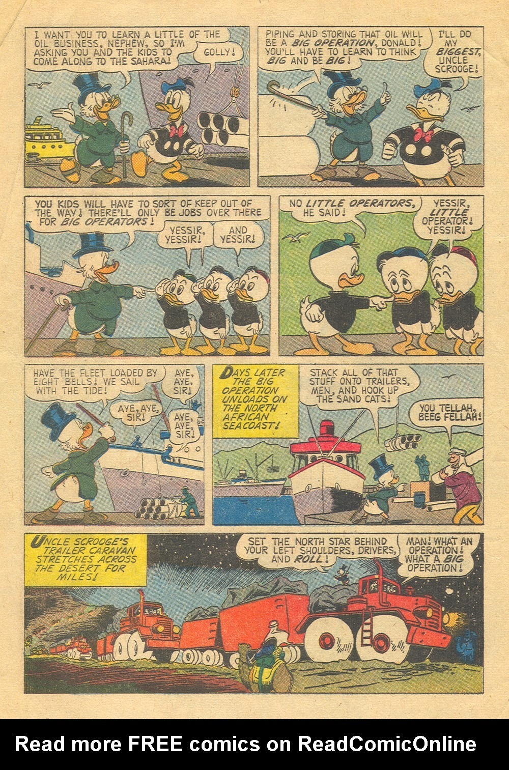 Read online Uncle Scrooge (1953) comic -  Issue #30 - 4