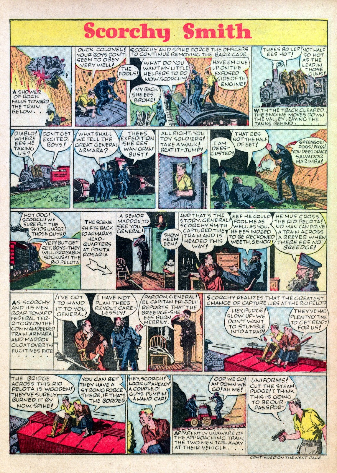 Read online Famous Funnies comic -  Issue #45 - 46