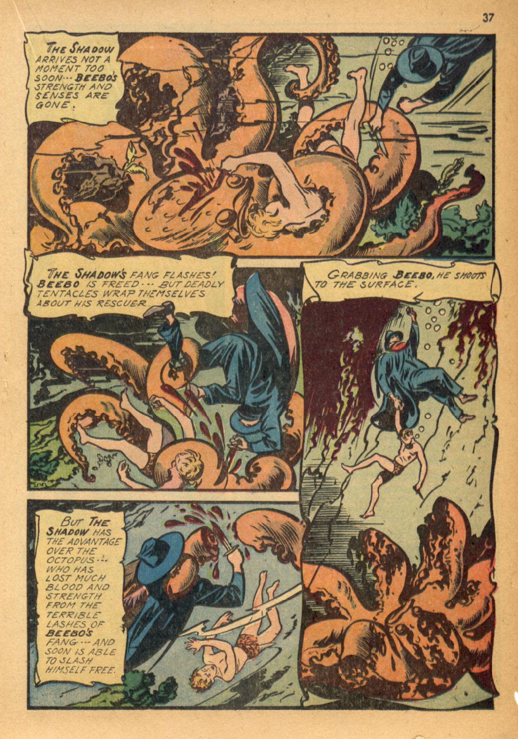 Read online Shadow Comics comic -  Issue #32 - 38