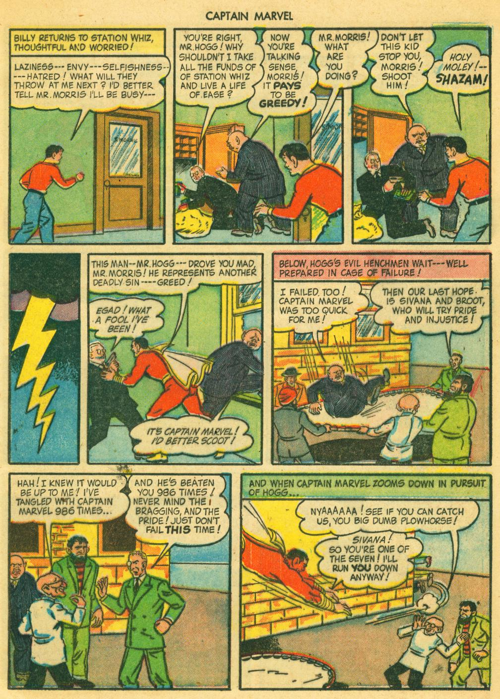 Captain Marvel Adventures issue 41 - Page 13