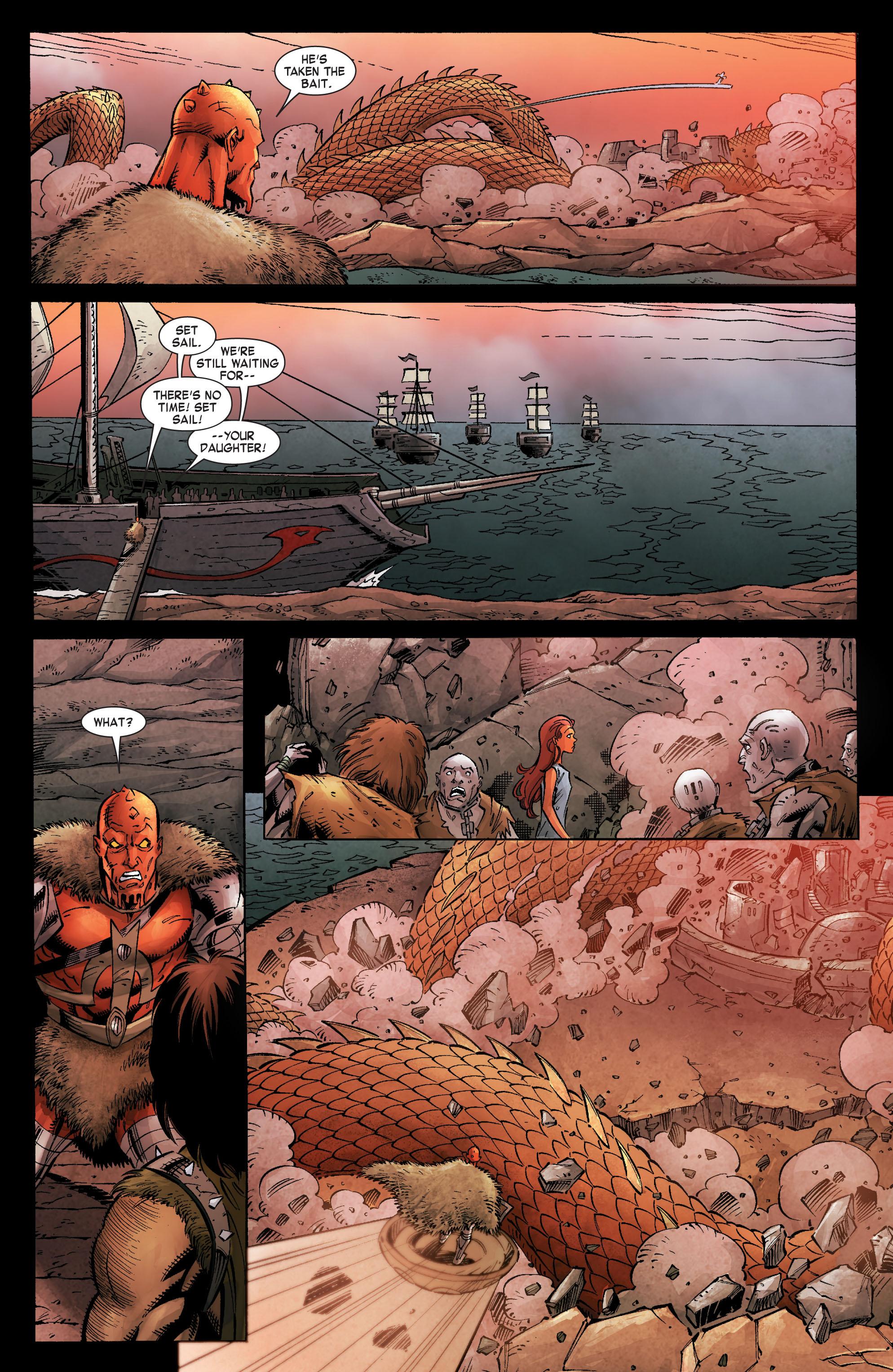 Read online Skaar: Son of Hulk comic -  Issue #8 - 19