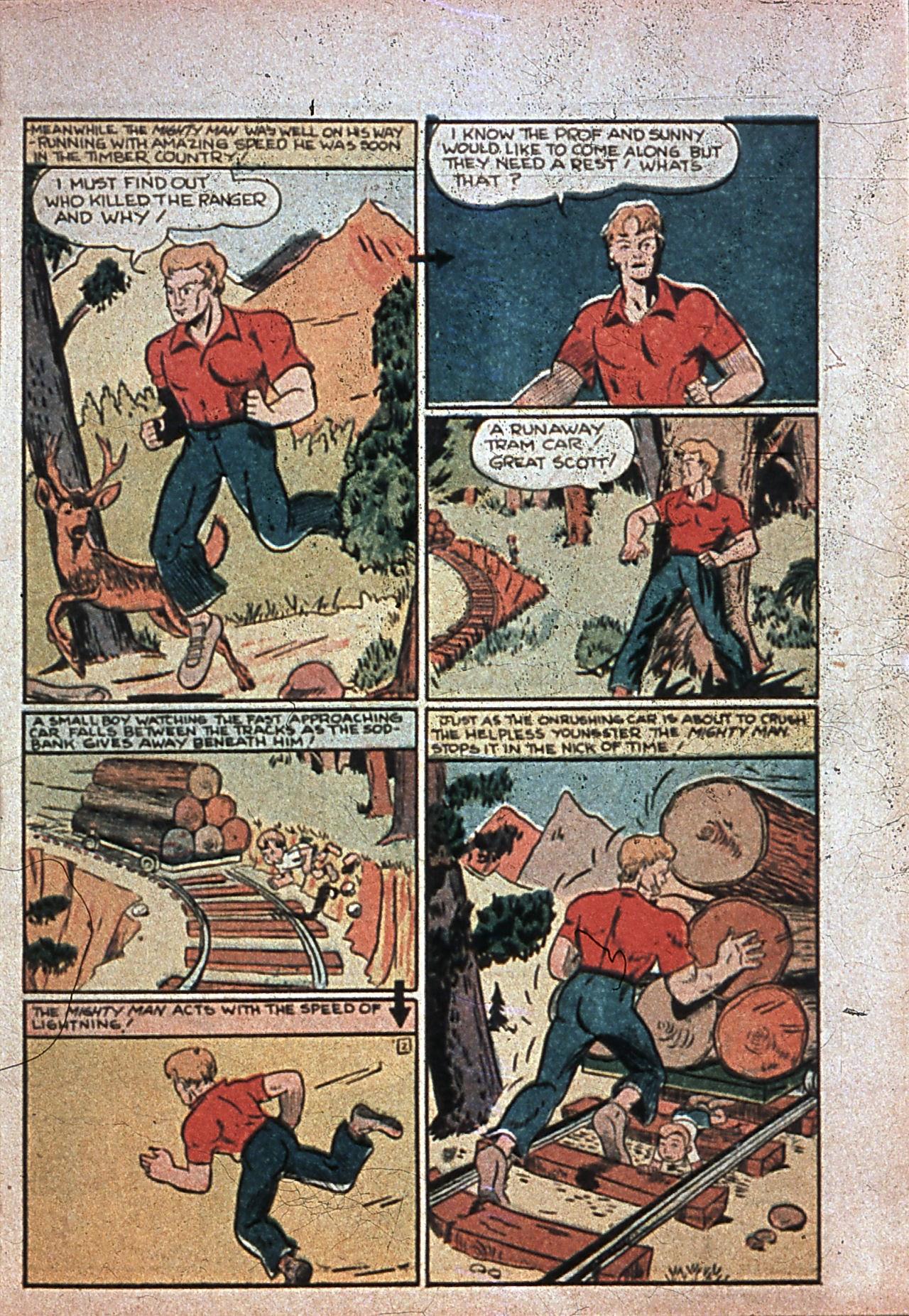 Read online Amazing Man Comics comic -  Issue #7 - 54