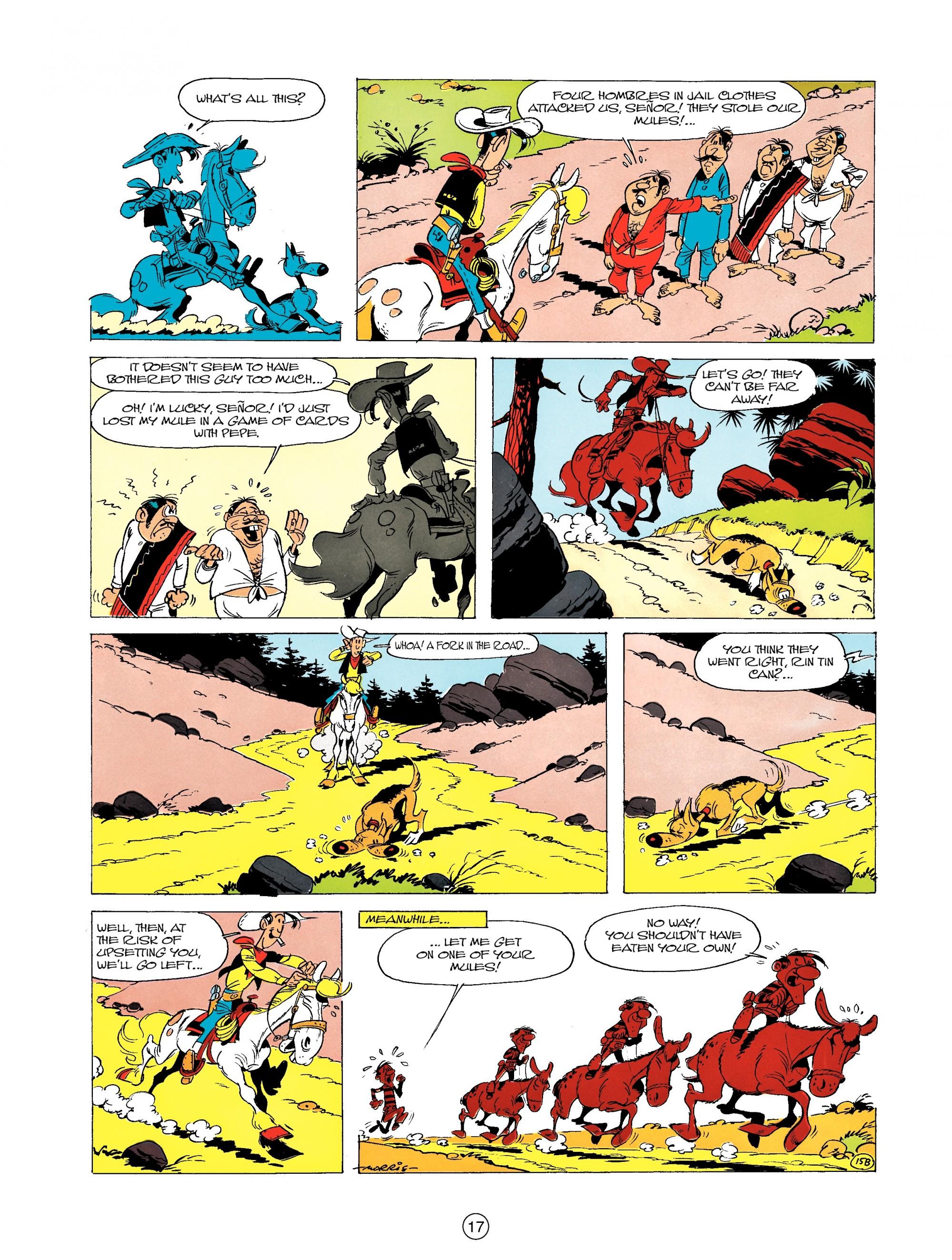 Read online A Lucky Luke Adventure comic -  Issue #19 - 17