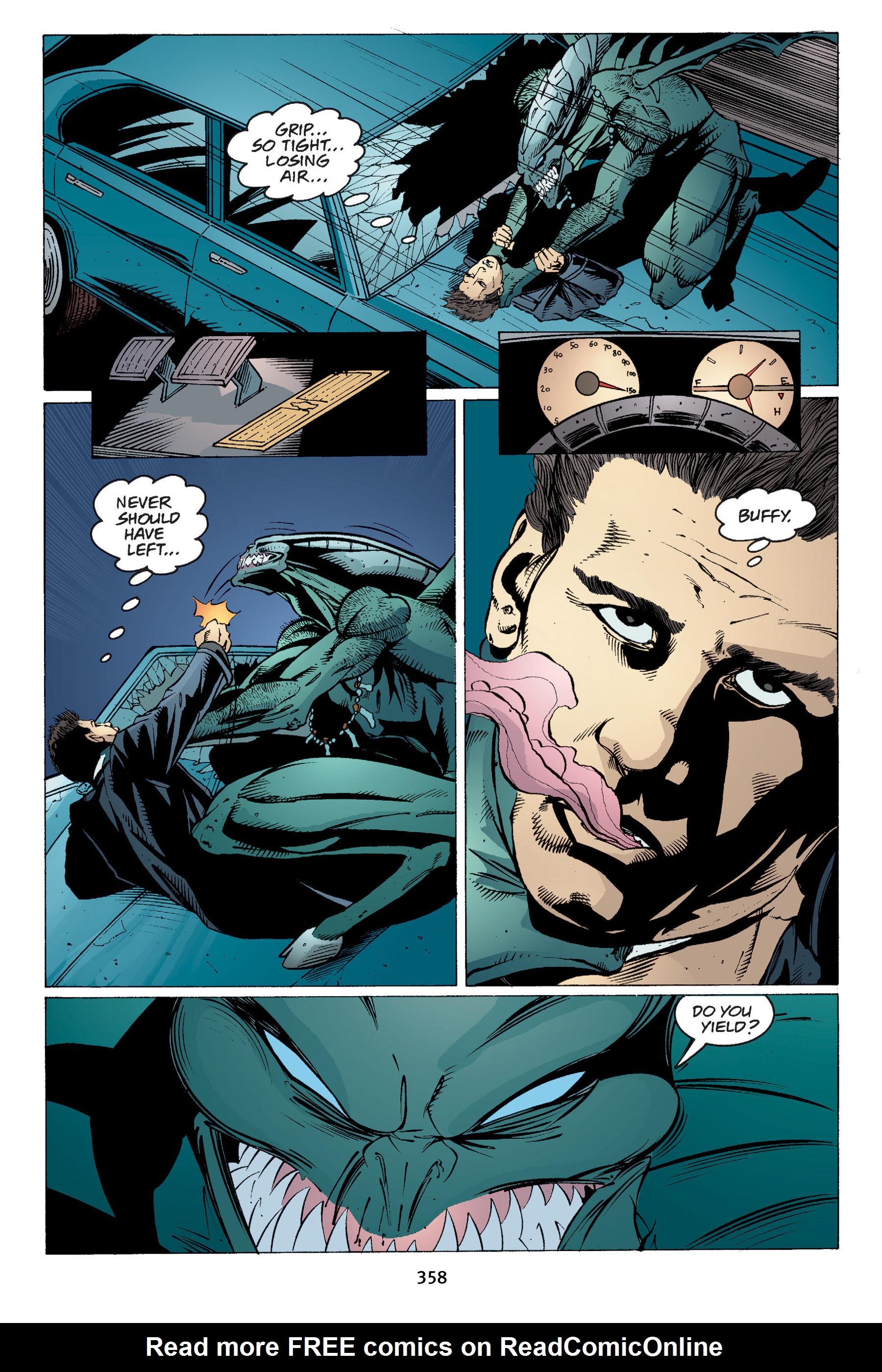 Read online Buffy the Vampire Slayer: Omnibus comic -  Issue # TPB 4 - 354