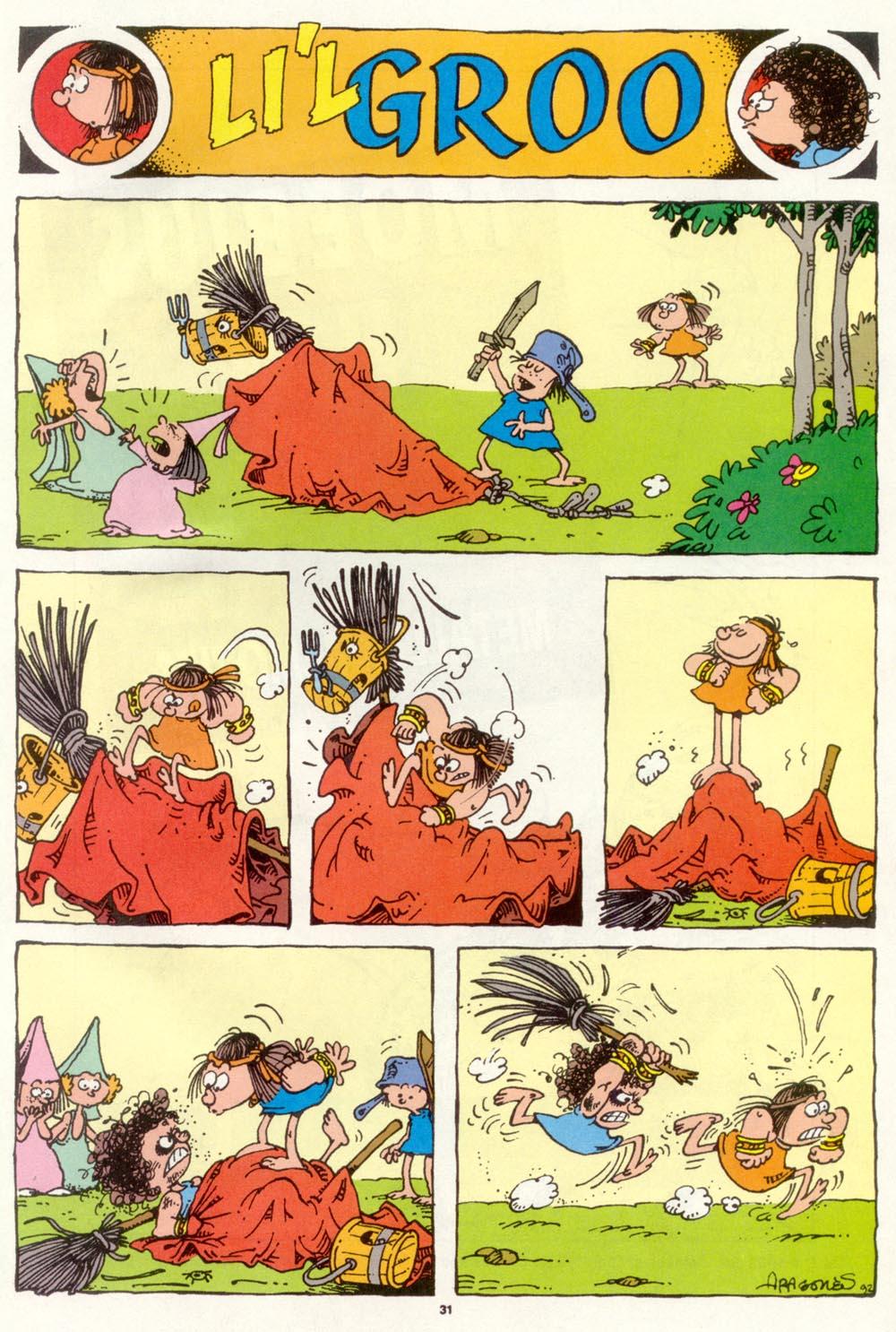 Read online Sergio Aragonés Groo the Wanderer comic -  Issue #97 - 32
