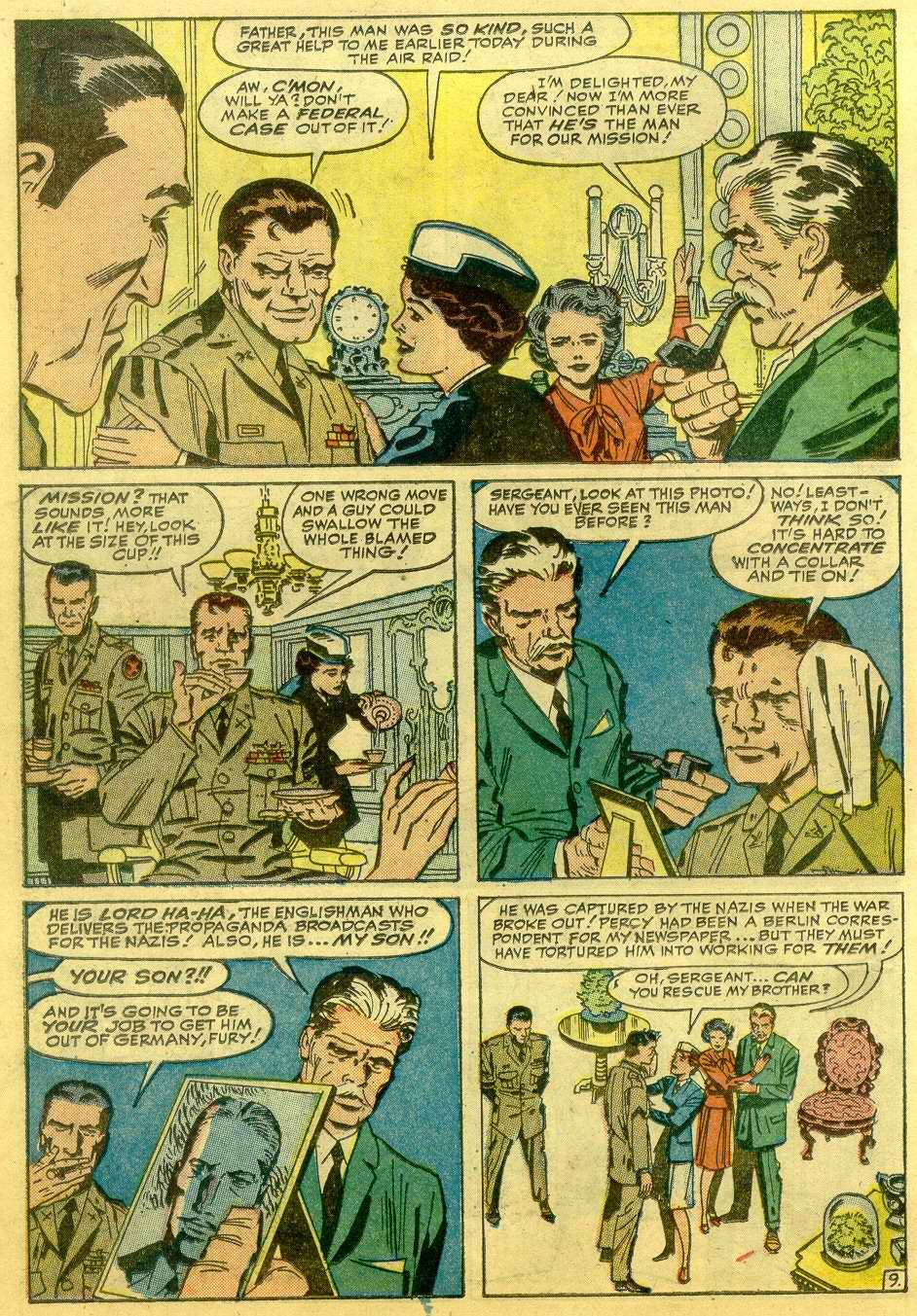 Read online Sgt. Fury comic -  Issue # _Annual 1 - 32