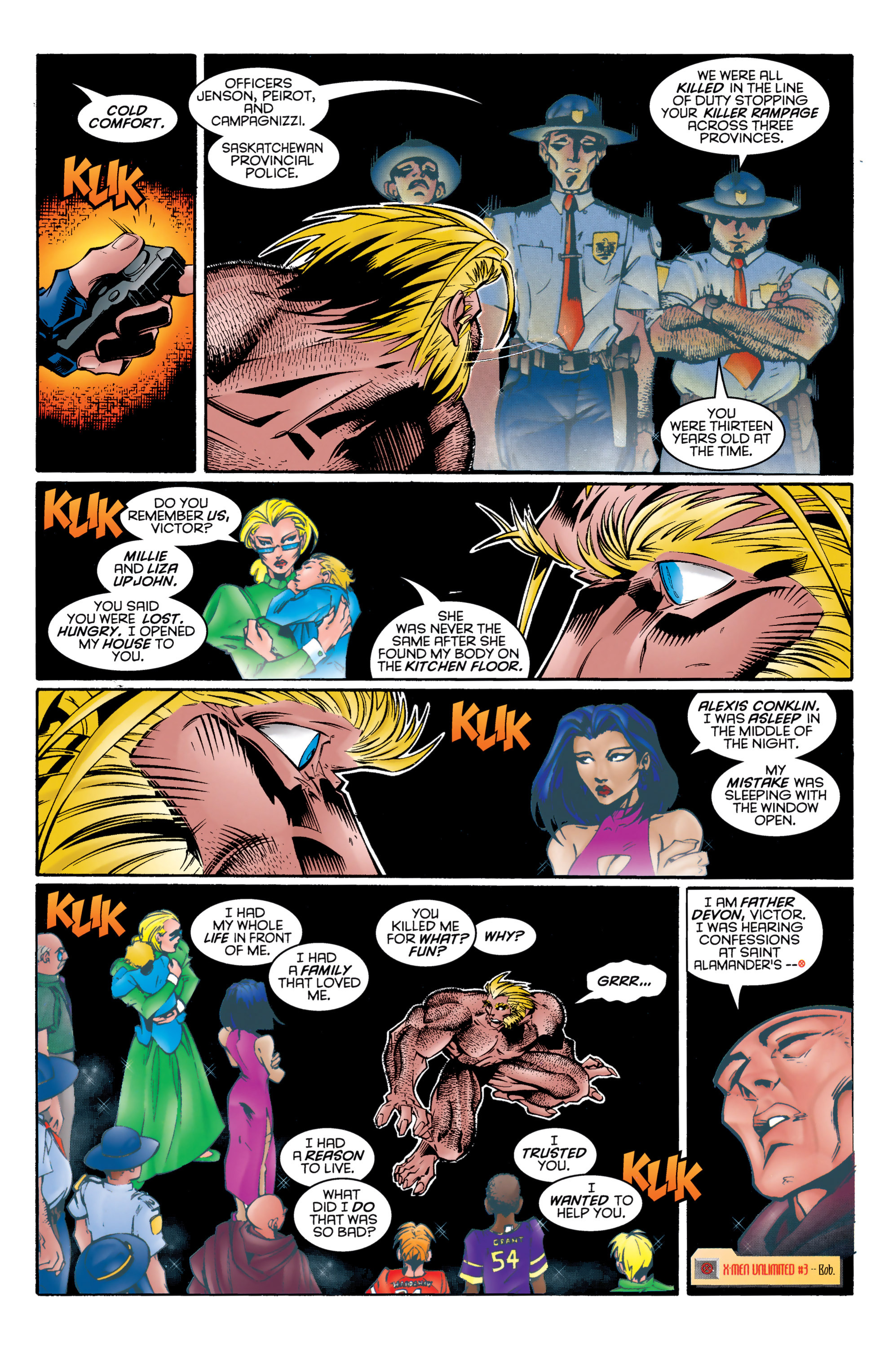 Read online Uncanny X-Men (1963) comic -  Issue #326 - 16