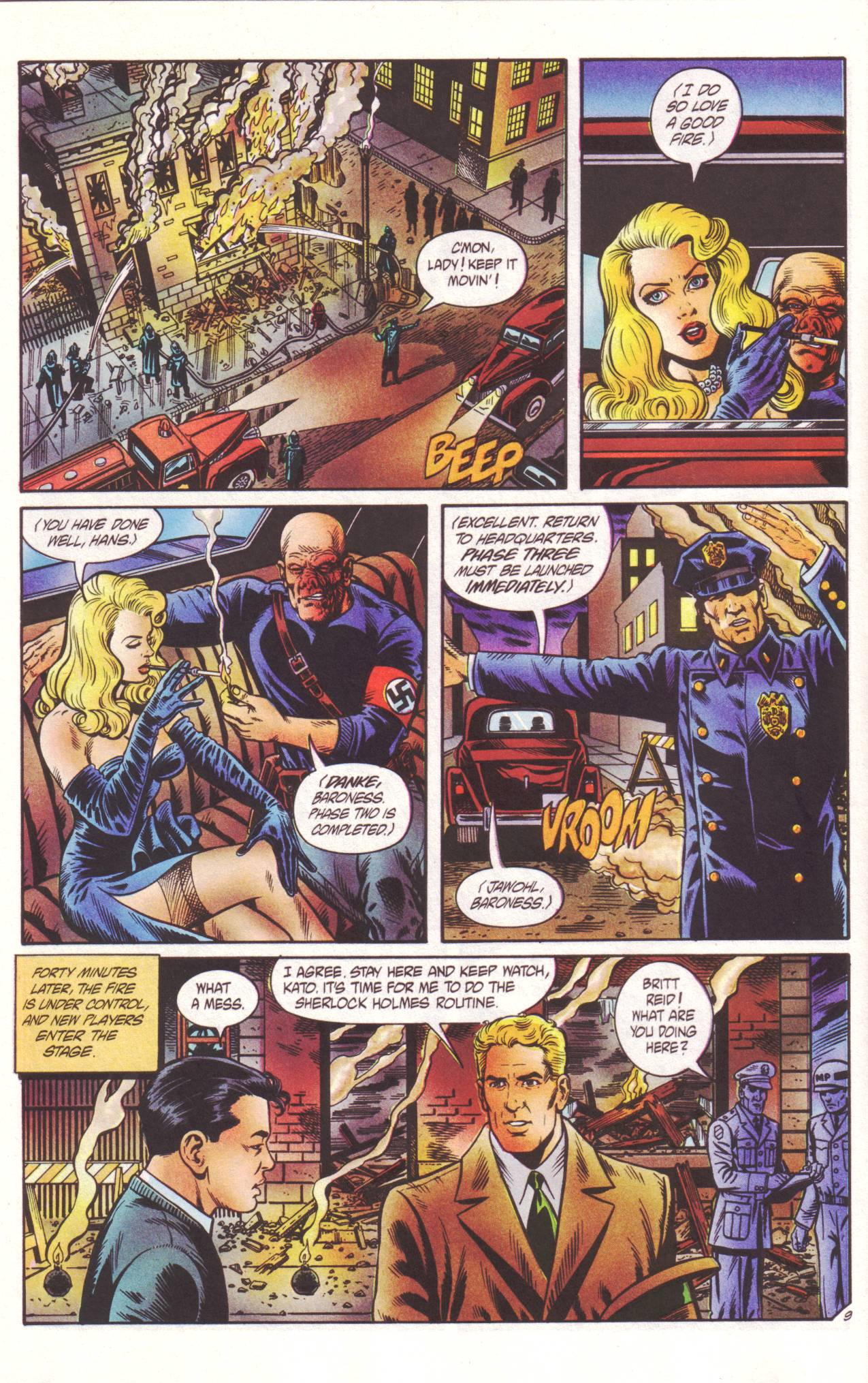 Read online Sting of The Green Hornet comic -  Issue #2 - 10
