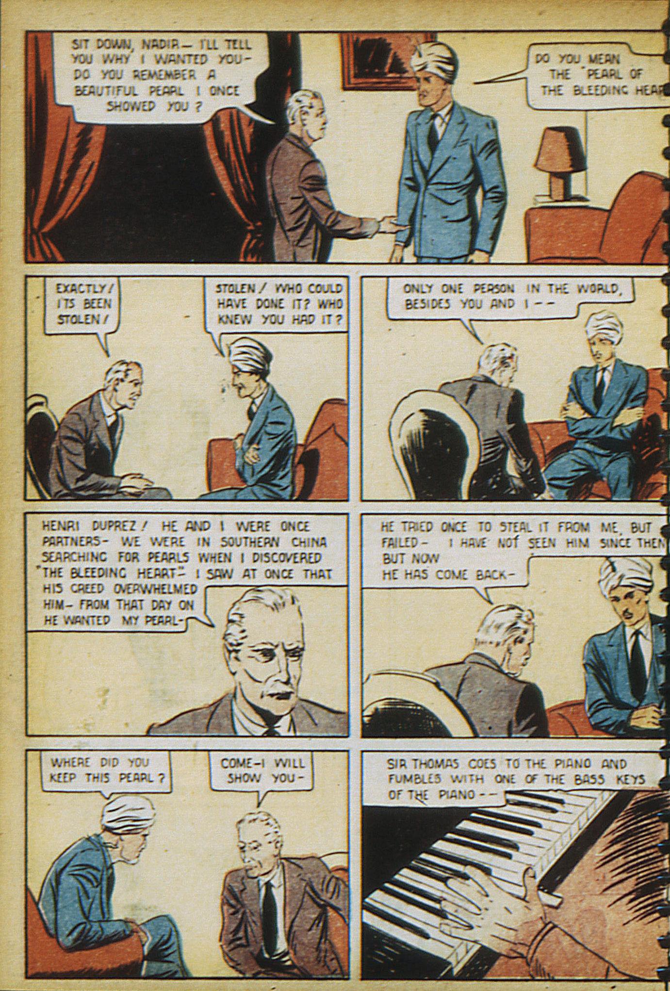 Read online Adventure Comics (1938) comic -  Issue #17 - 9