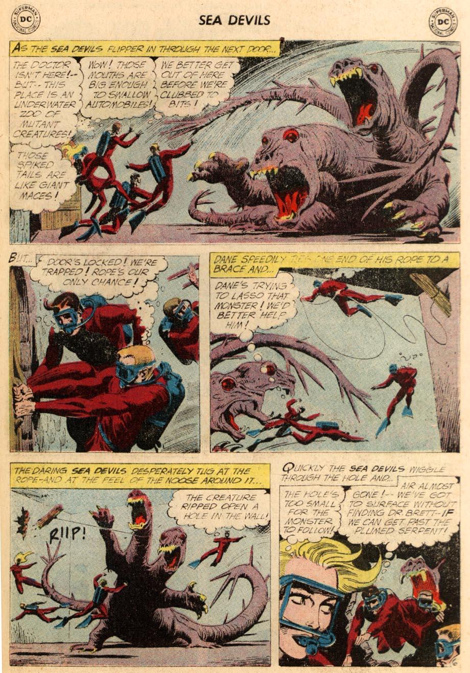 Read online Sea Devils comic -  Issue #5 - 34