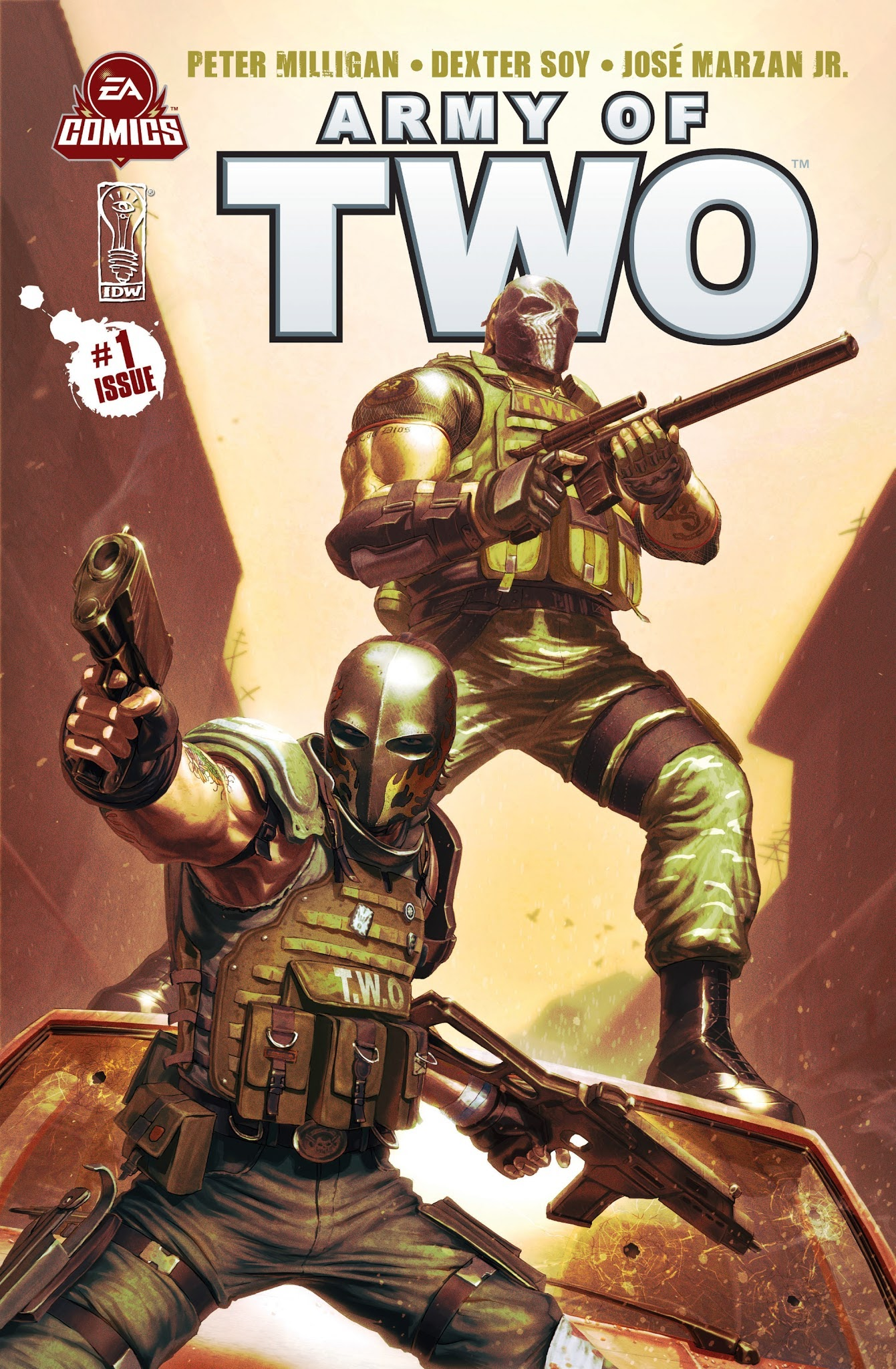 Army of Two 1 Page 1