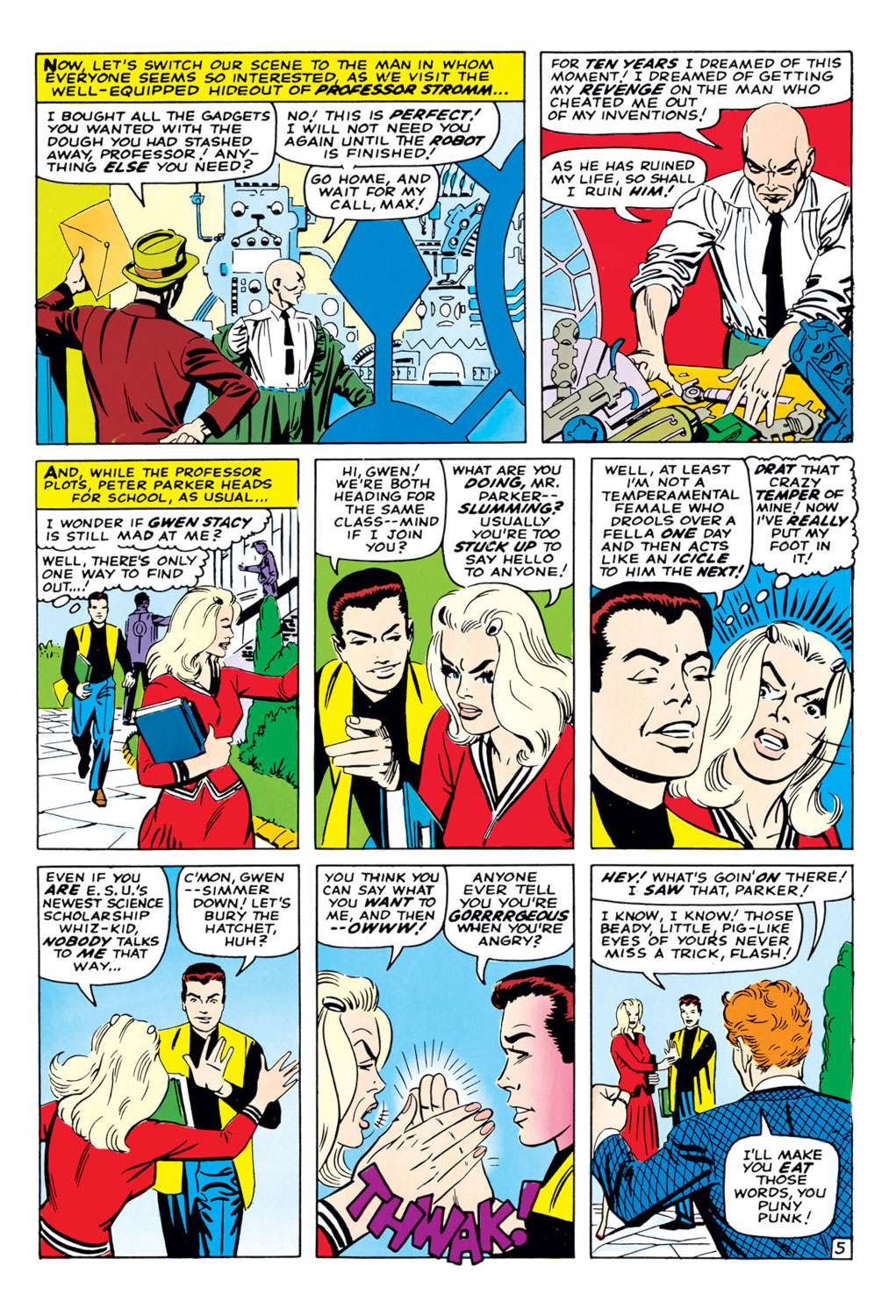 The Amazing Spider-Man (1963) 37 Page 5
