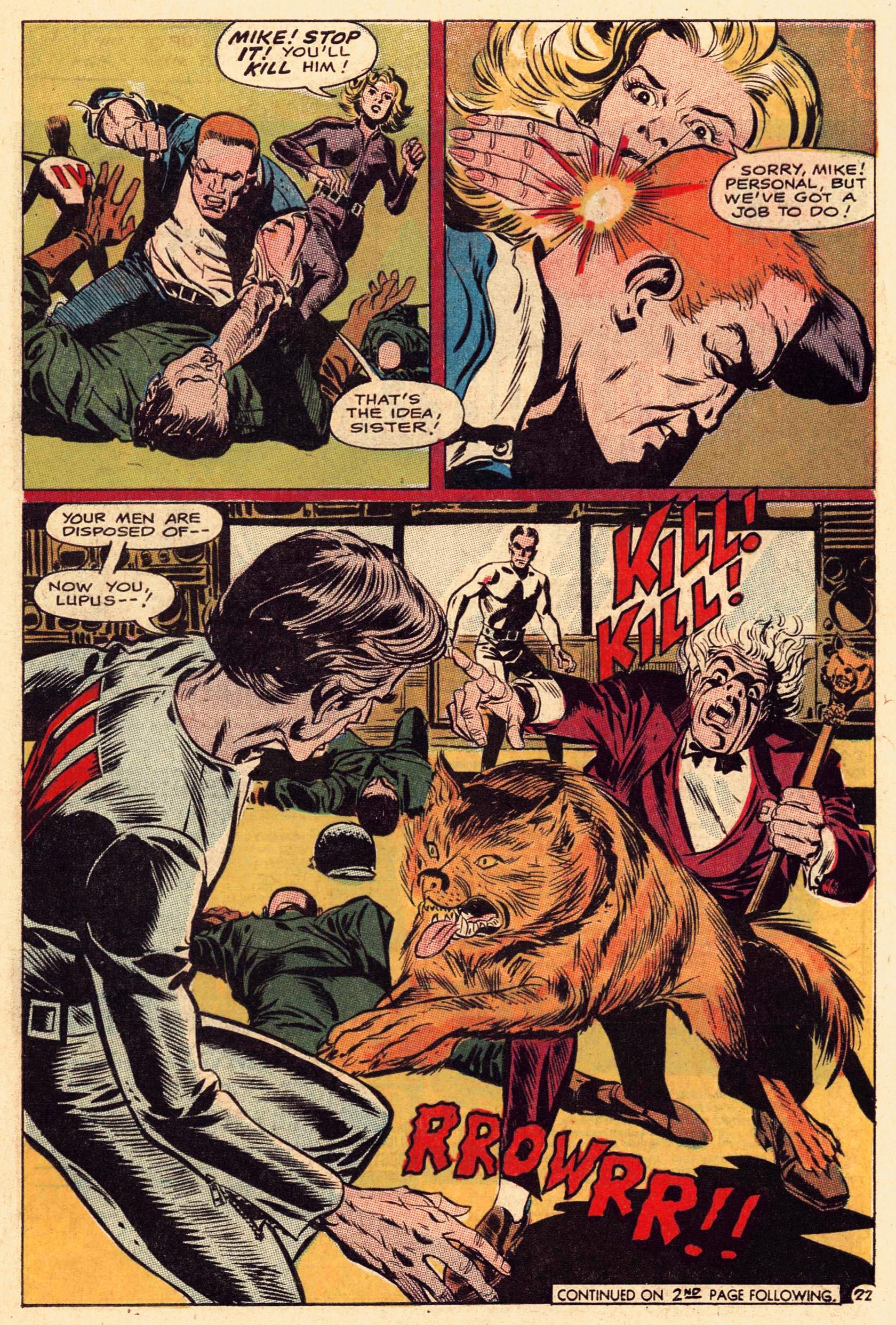 Read online Secret Six (1968) comic -  Issue #1 - 29