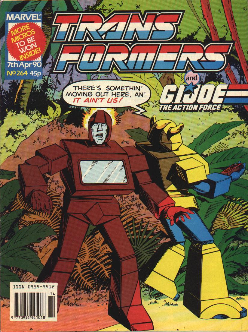 The Transformers (UK) 264 Page 1