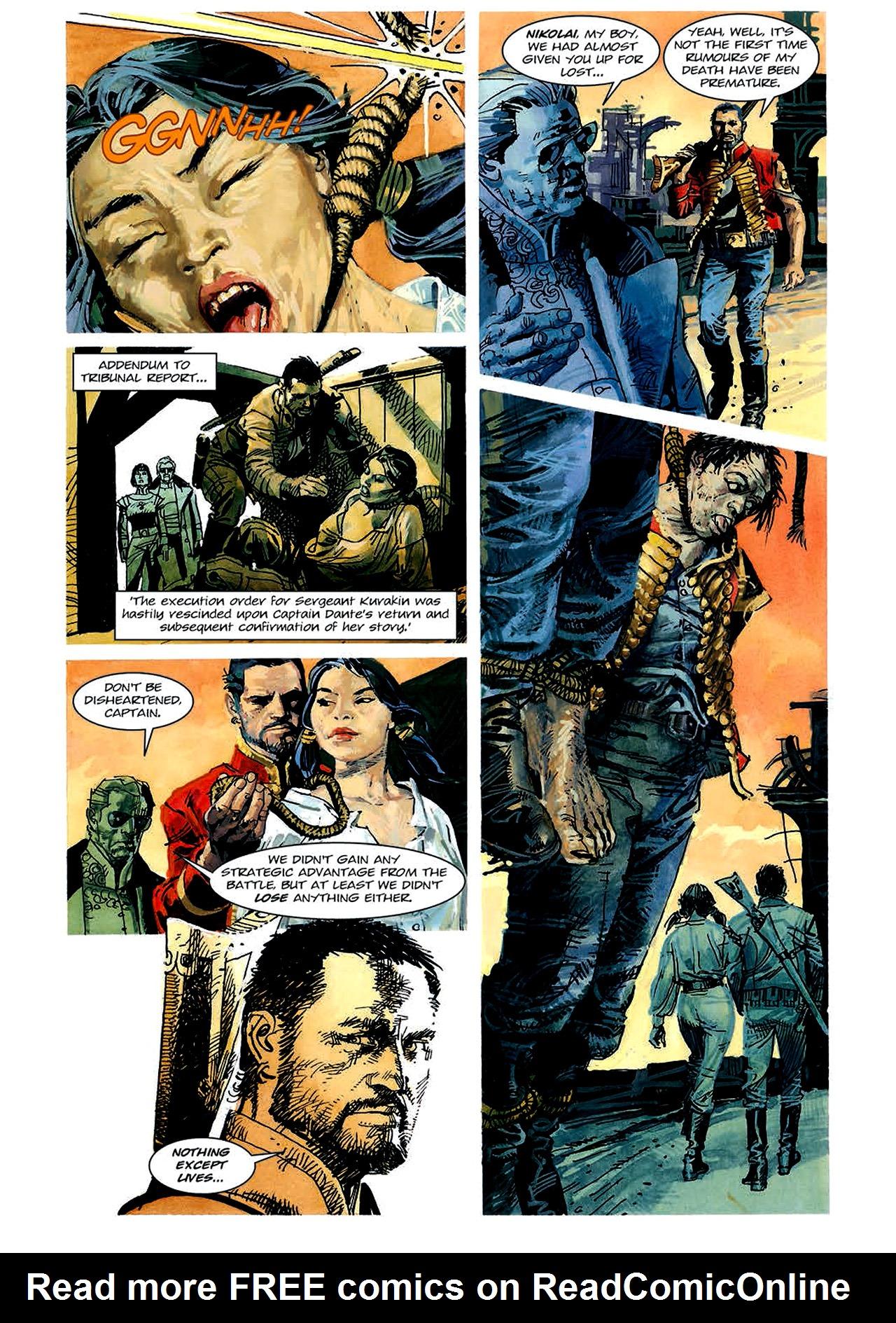 Read online Nikolai Dante comic -  Issue # TPB 4 - 82