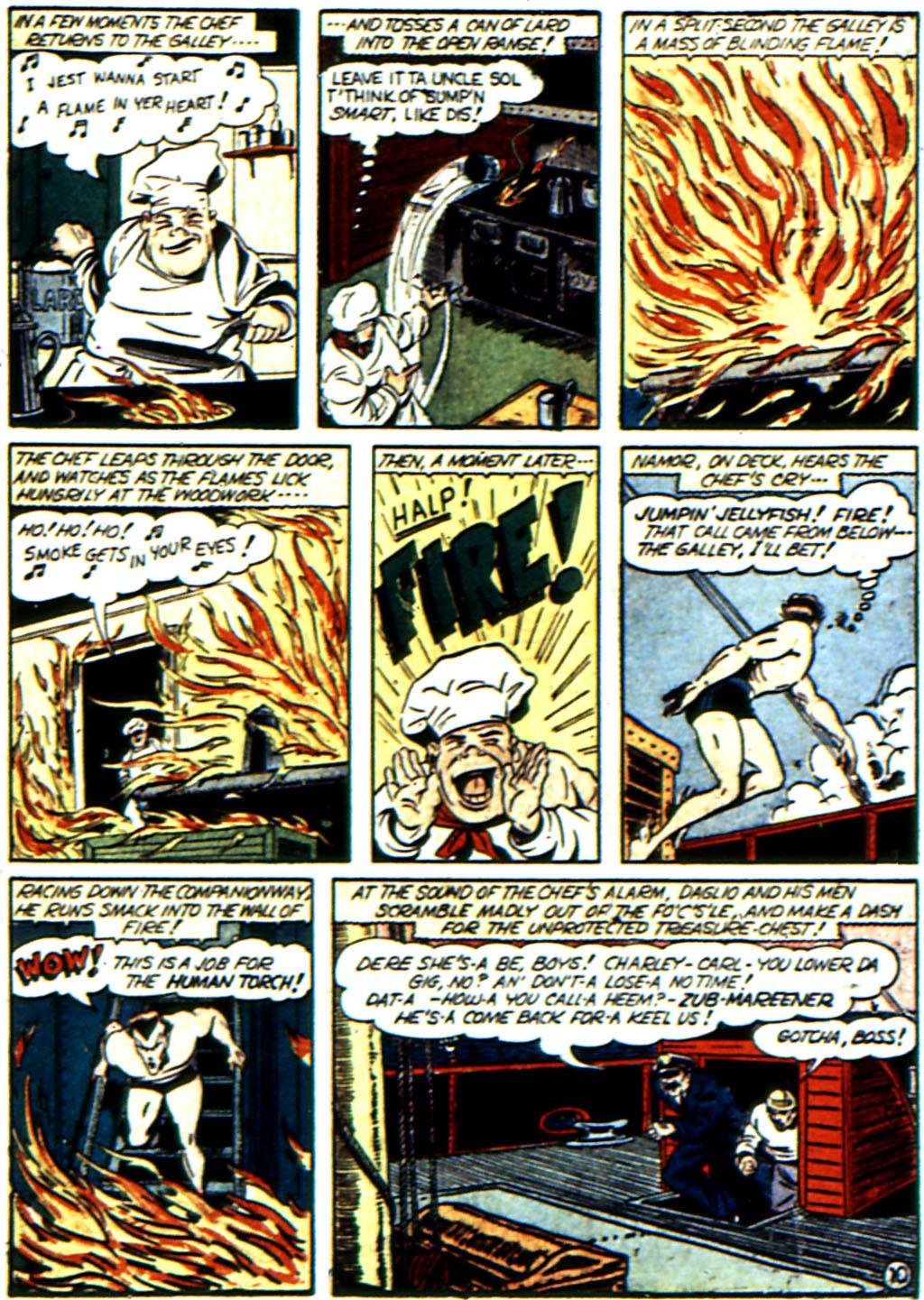 Read online All-Winners Comics comic -  Issue #3 - 52