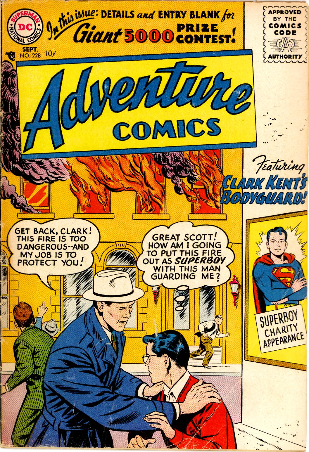 Read online Adventure Comics (1938) comic -  Issue #228 - 1